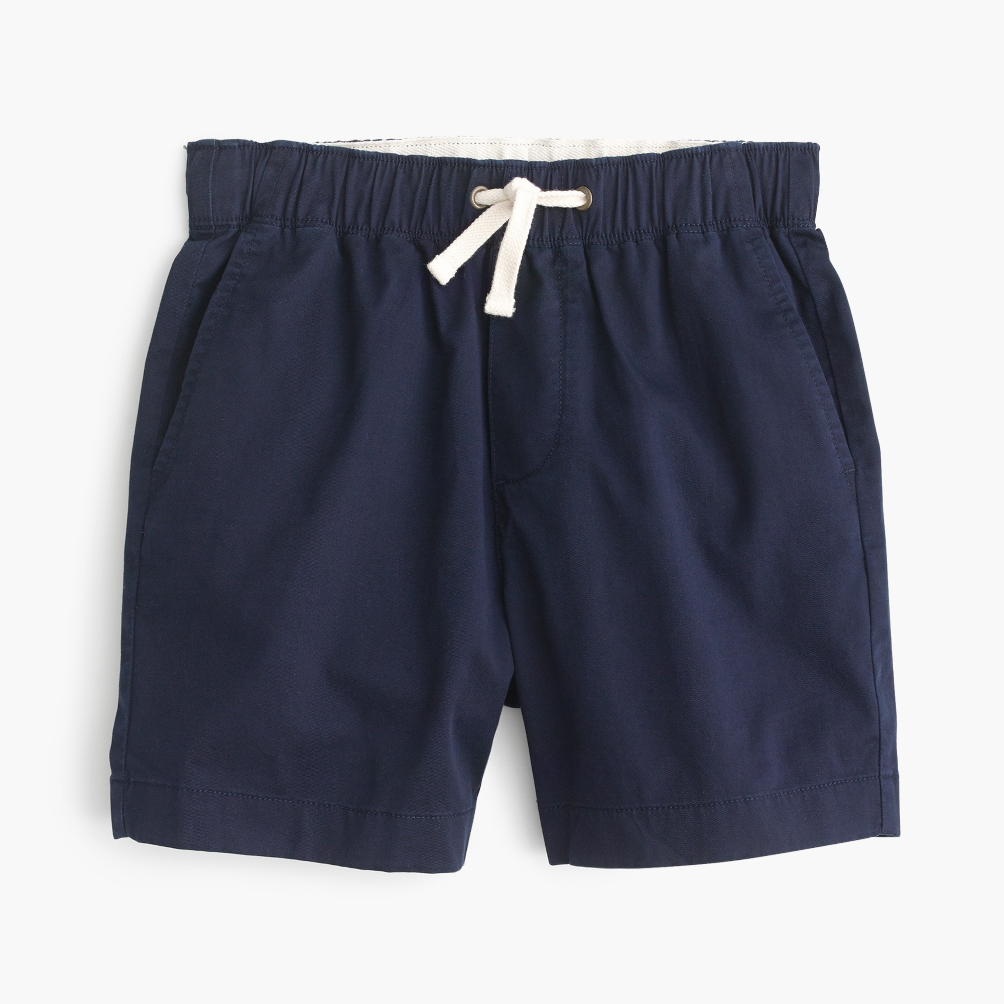 boys Boys' stretch dock short in lightweight chino