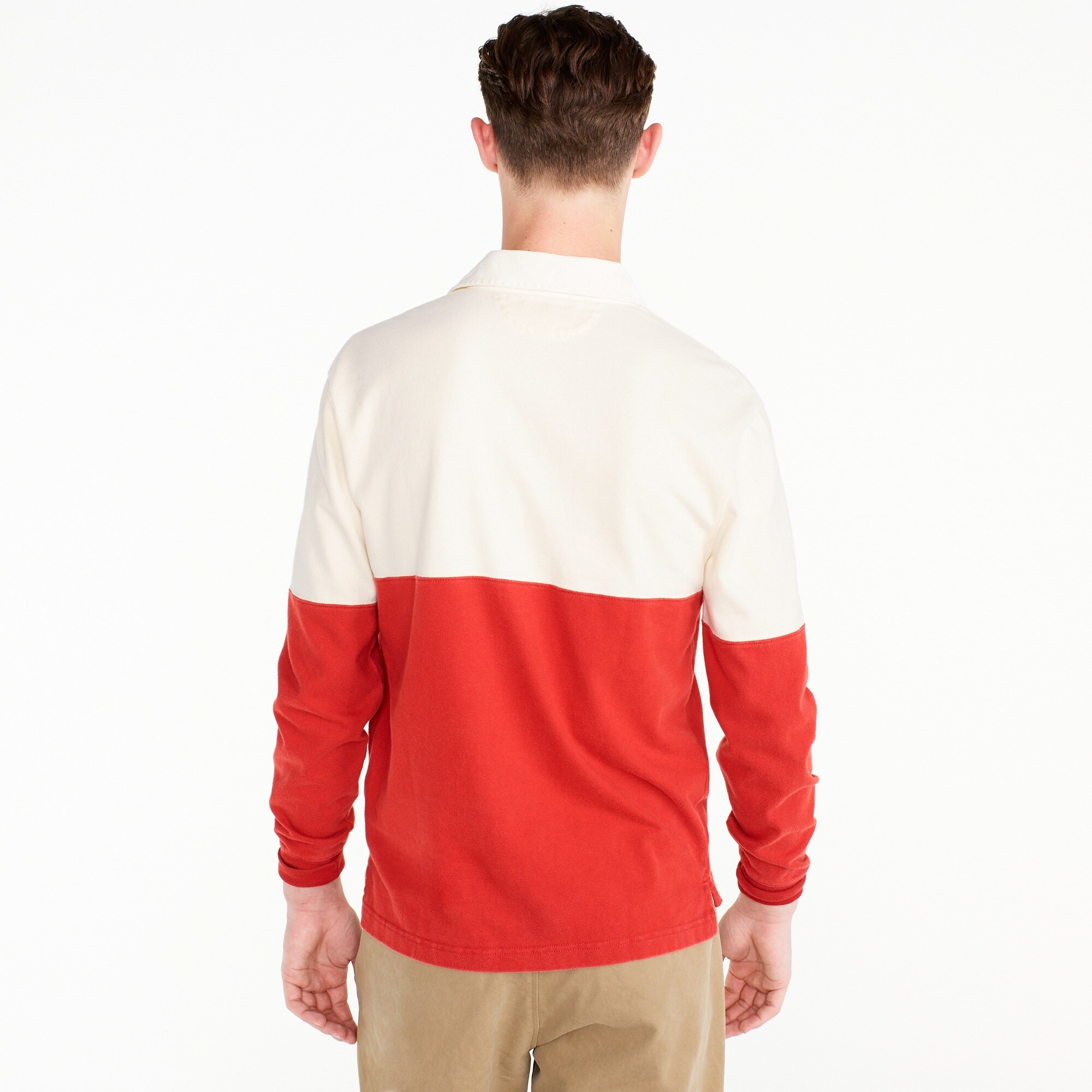 Image 3 for Unisex 1984 rugby shirt in colorblock