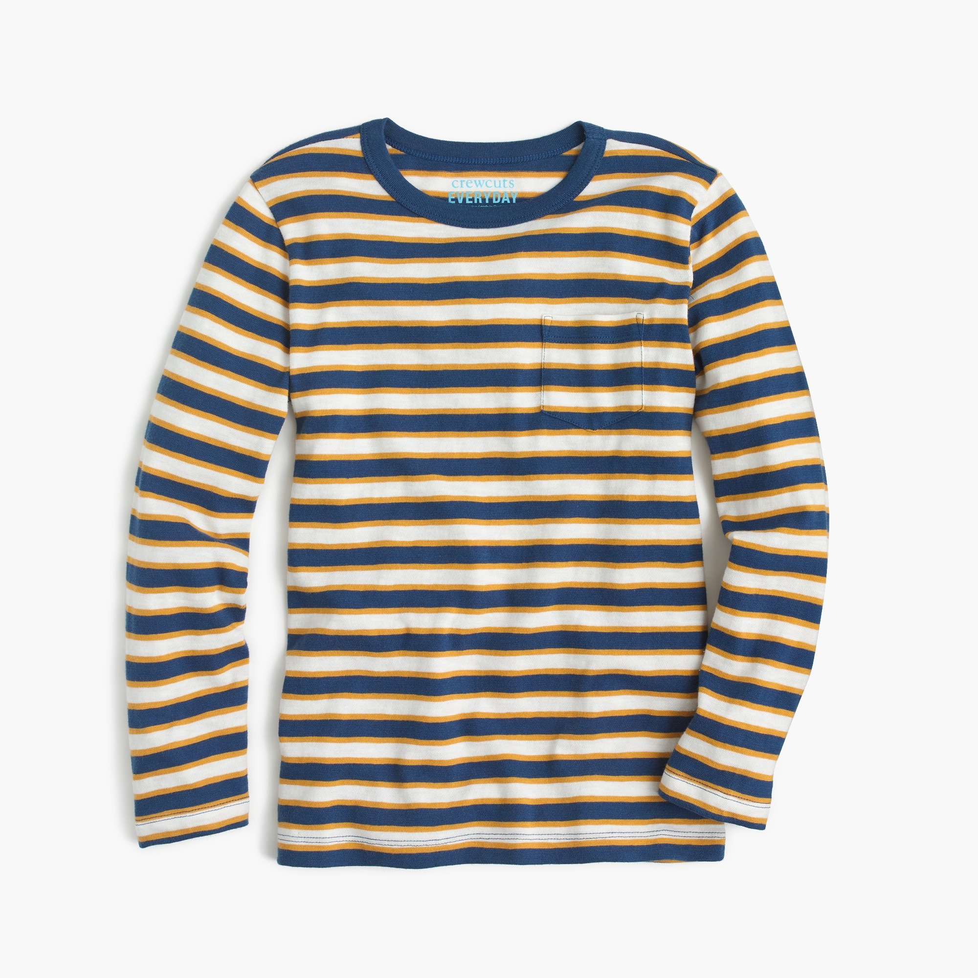 Boys' striped long-sleeve T-shirt boy t-shirts & polos c
