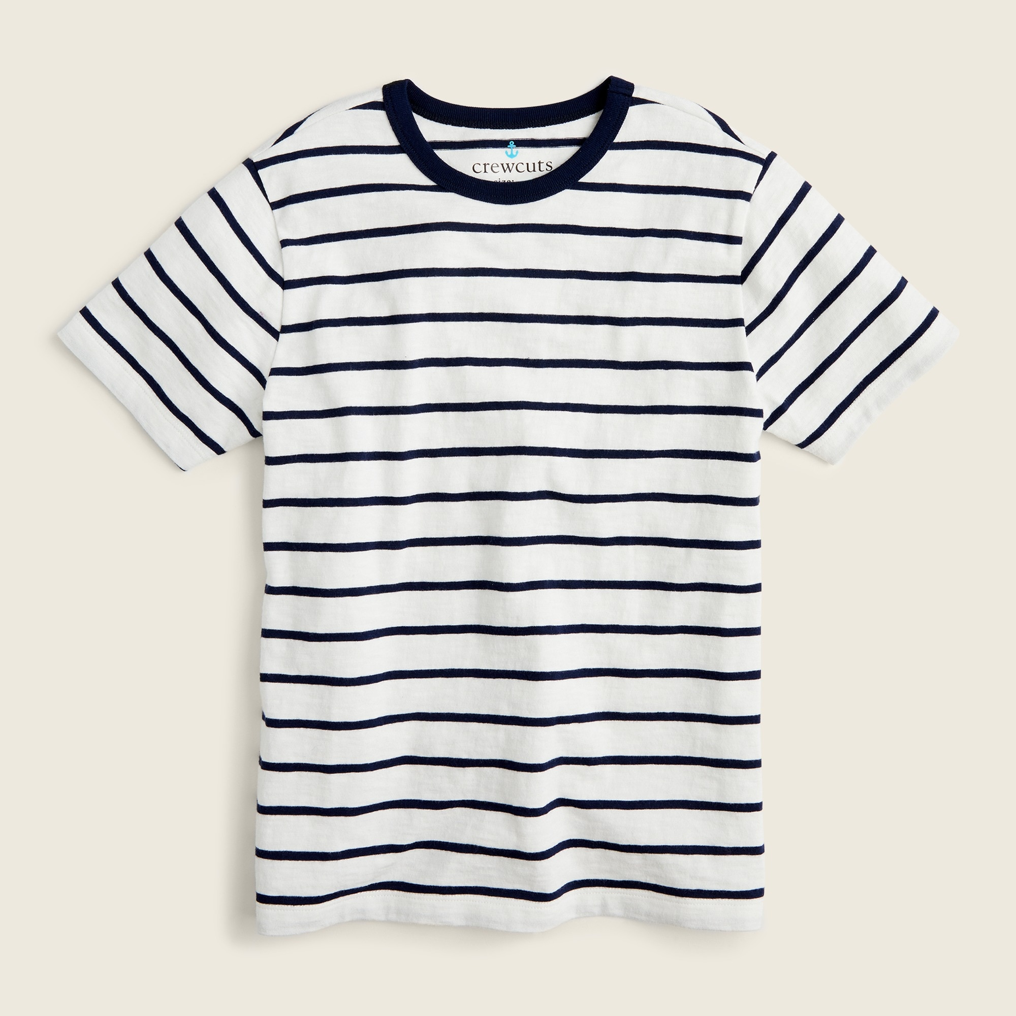 boys Kids' slub denali stripe T-shirt