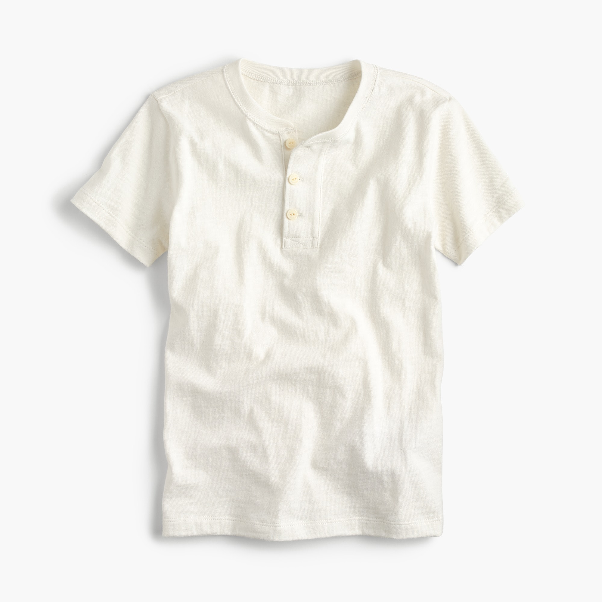 Boys' short-sleeve henley shirt boy new arrivals c