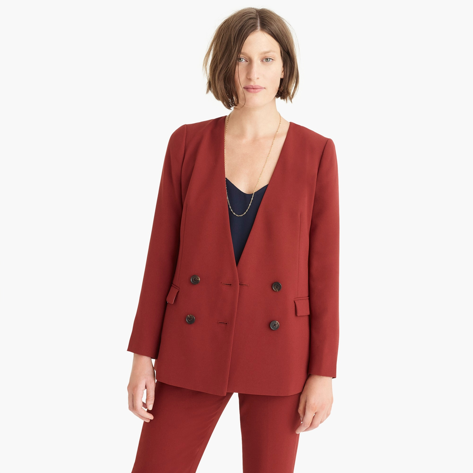 Image 4 for French girl blazer in 365 crepe