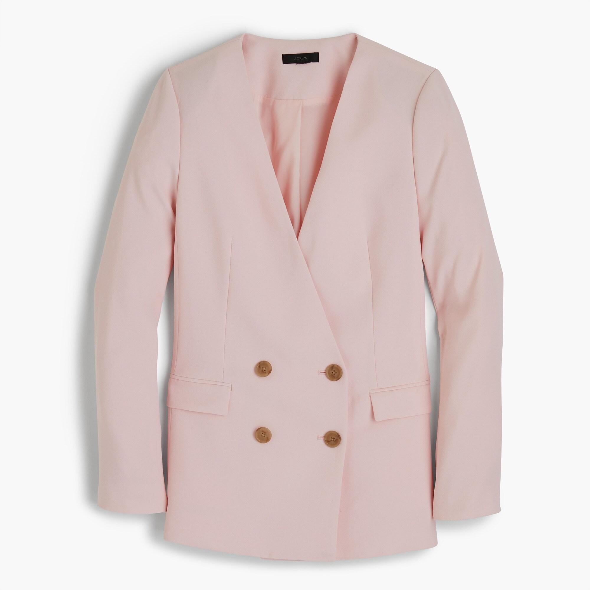women's french girl blazer in 365 crepe - women's suit separates