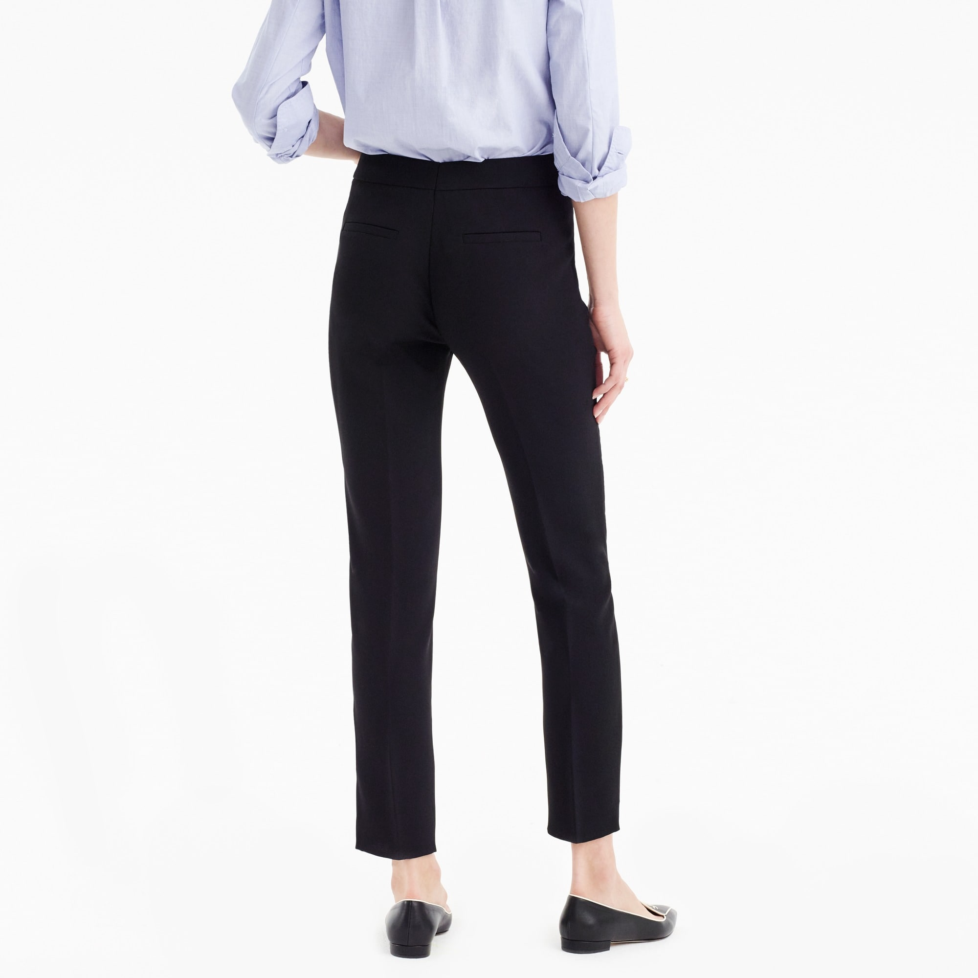 Tall French girl slim crop pant in 365 crepe