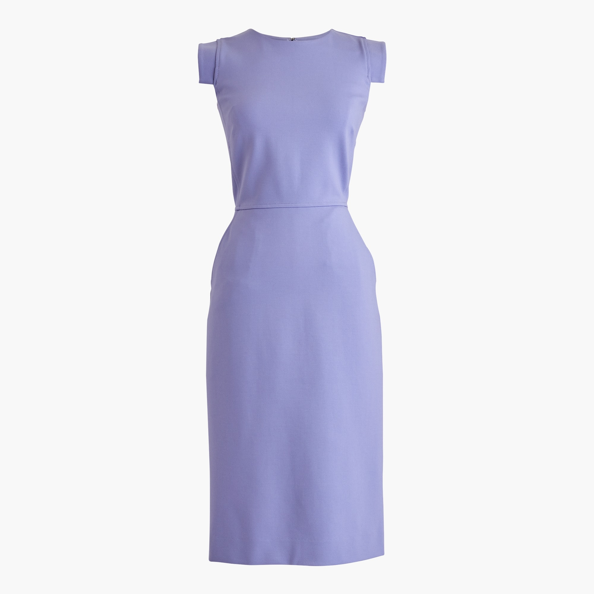 Tall résumé dress in stretch ponte