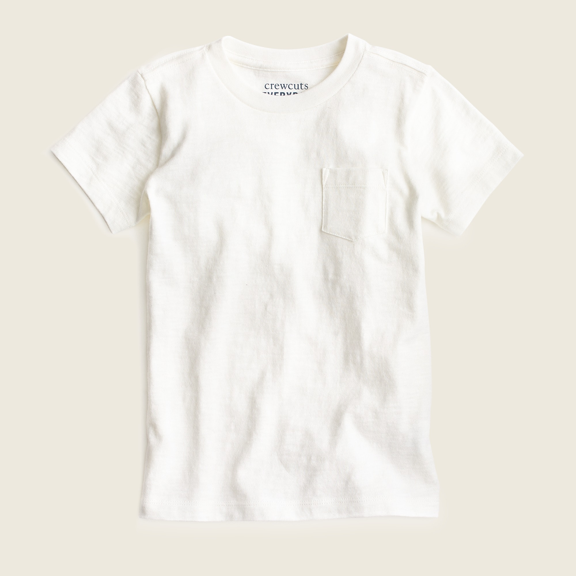 Boys' pocket T-shirt in slub cotton boy t-shirts & polos c