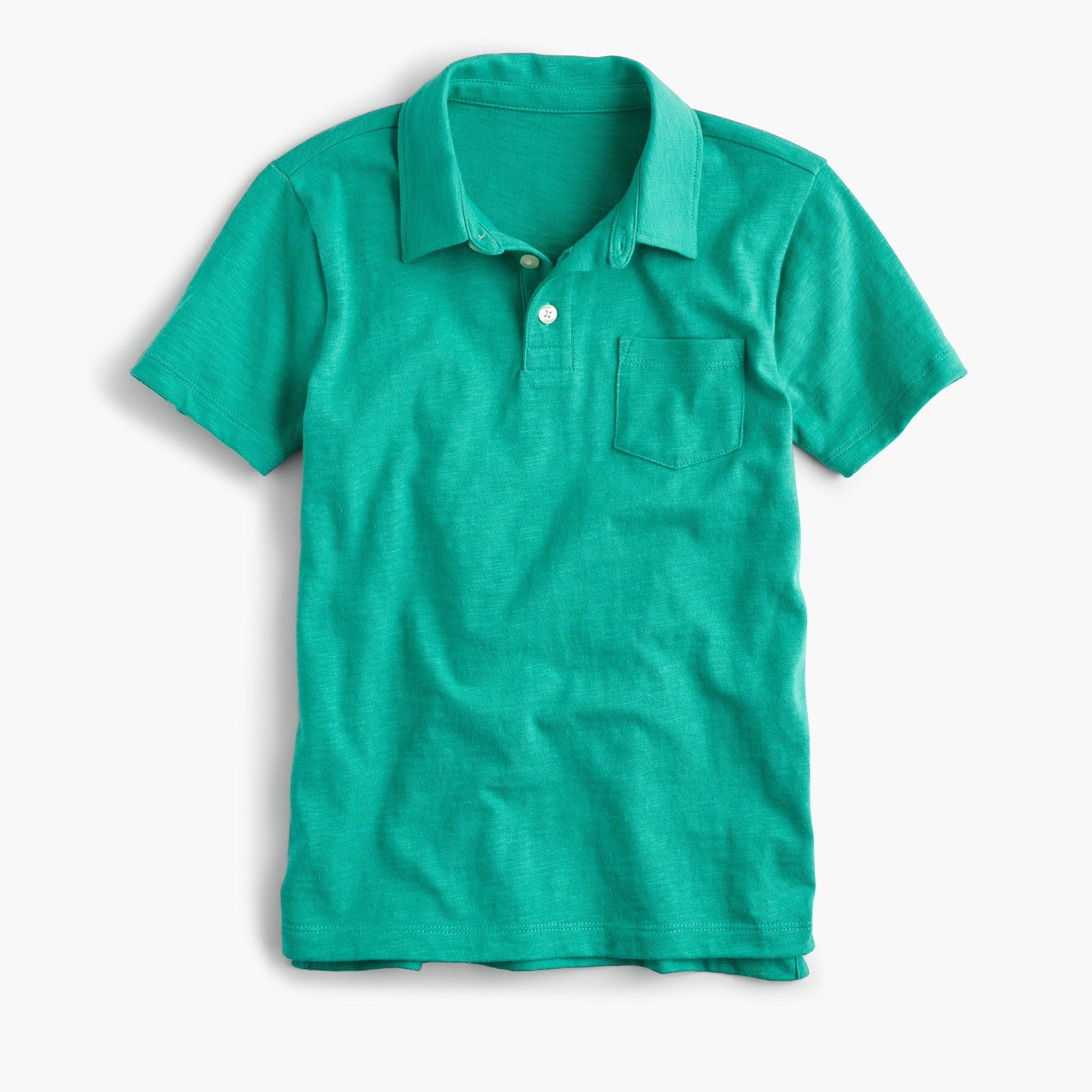 Boys' slub cotton polo shirt boy new arrivals c