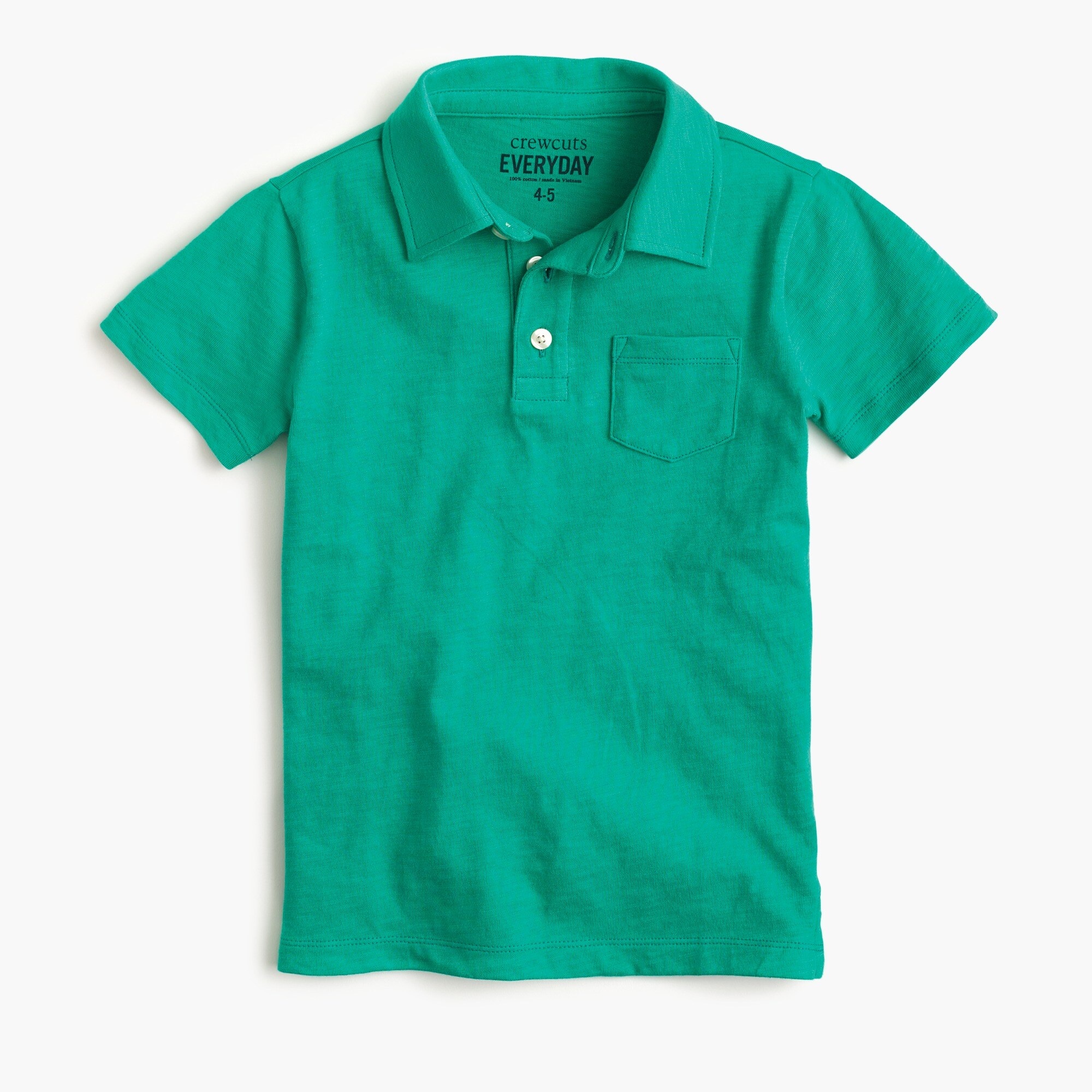 boys Boys' slub cotton polo shirt