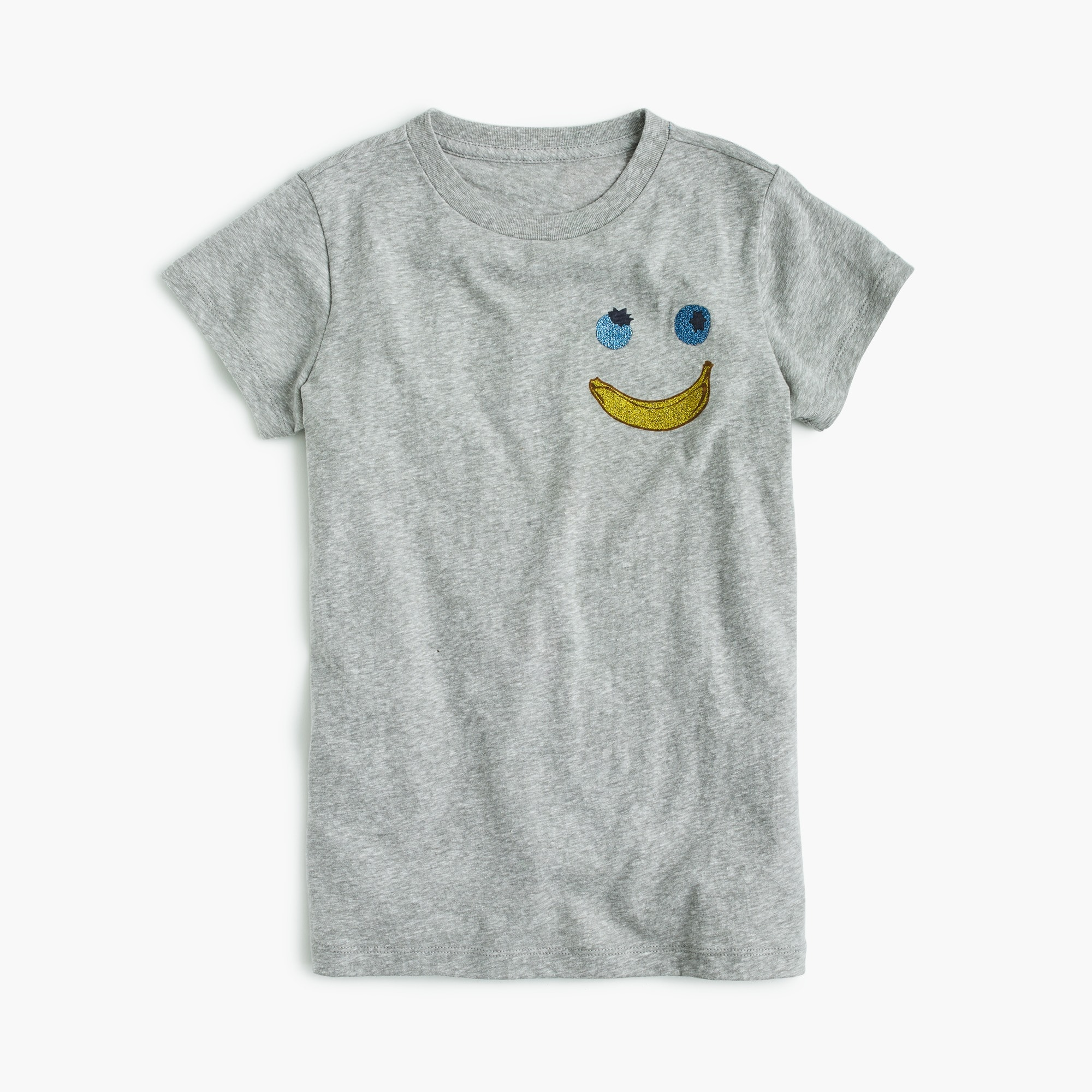 Girls' banana face T-shirt girl new arrivals c