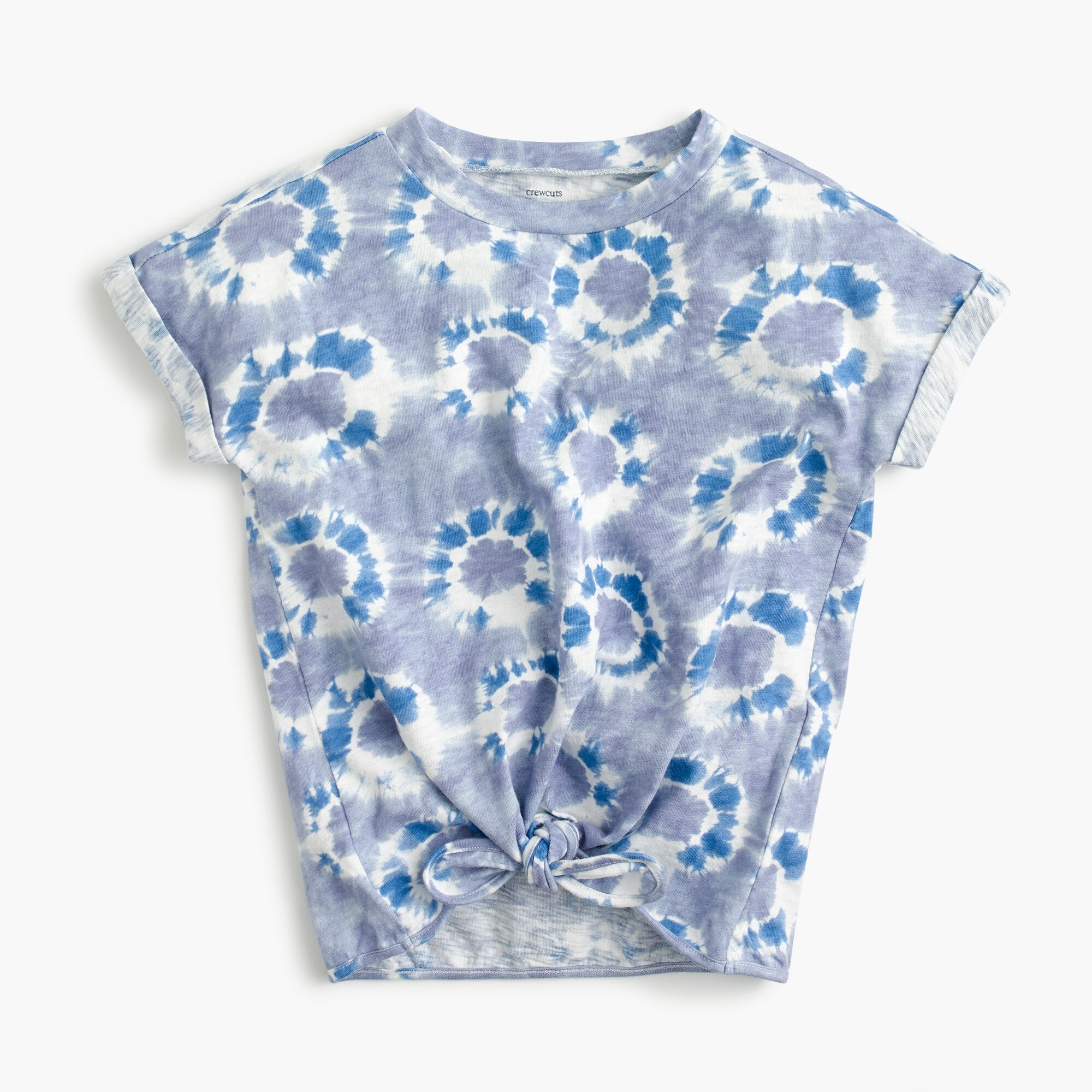 Image 1 for Girls' tie-dye T-shirt