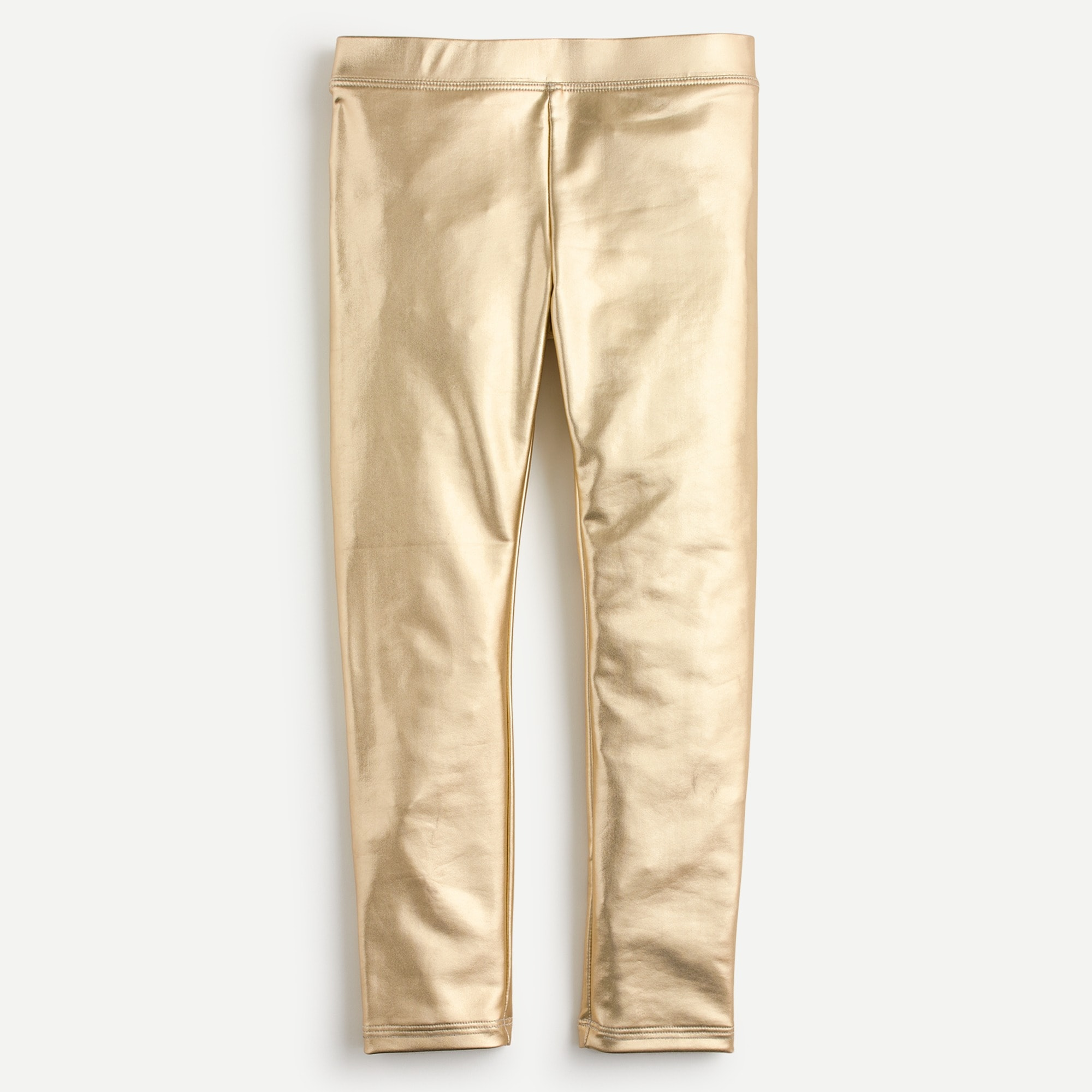 girls Girls' everyday leggings in metallic