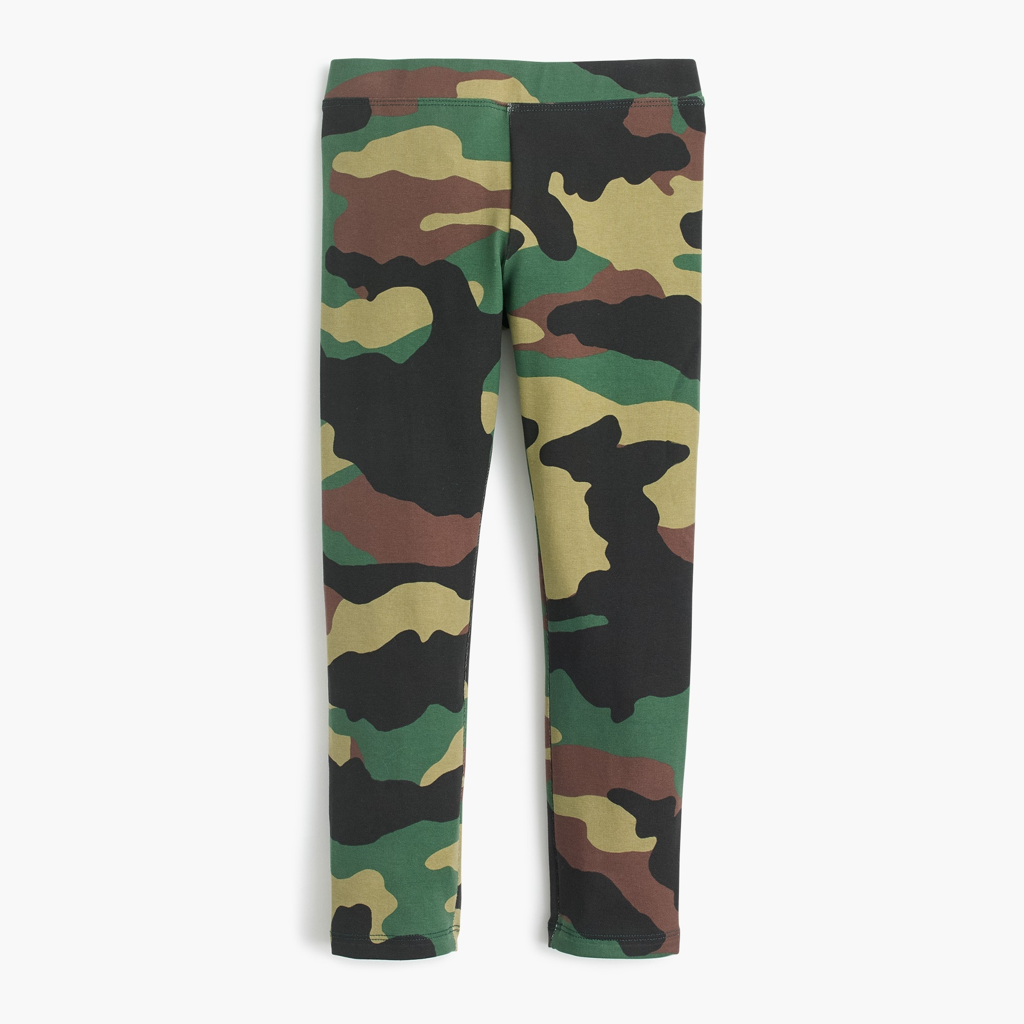 Girls' everyday leggings in camo girl pants c