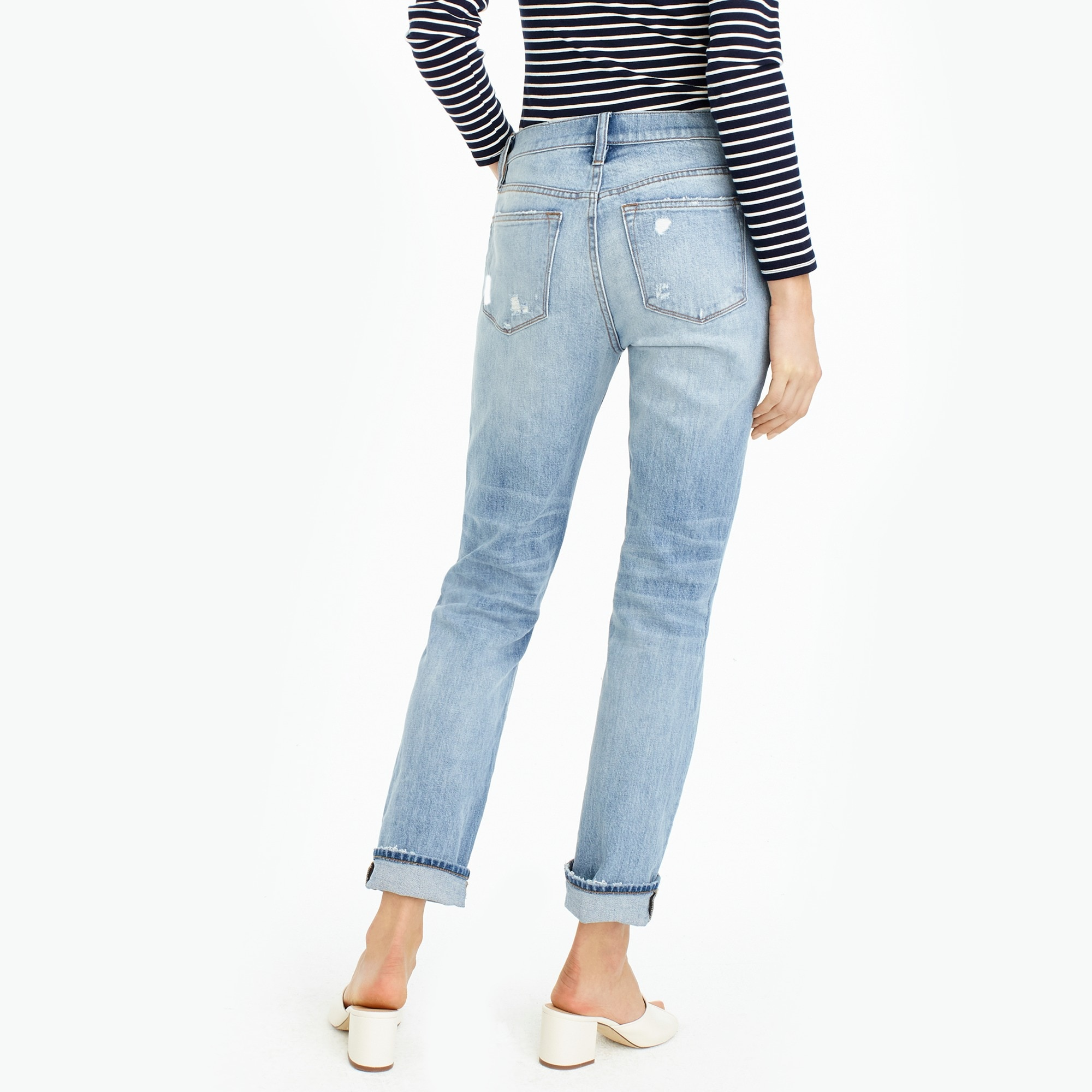 Slim boyfriend jean in Cedar wash