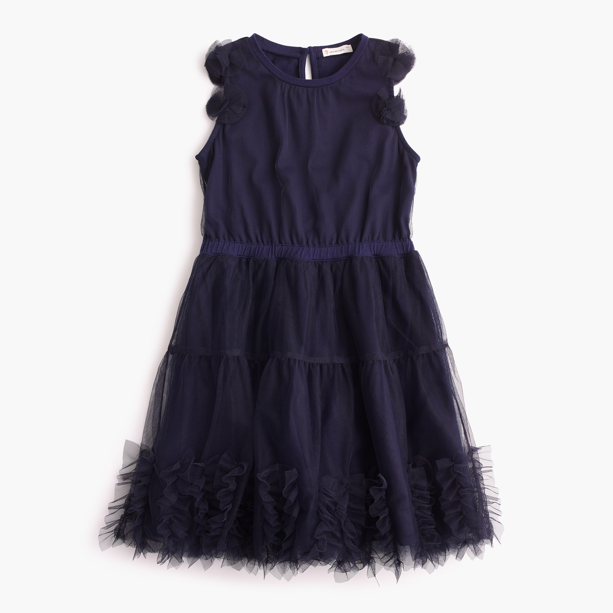 Girls' embellished tulle dress girl dresses & jumpsuits c