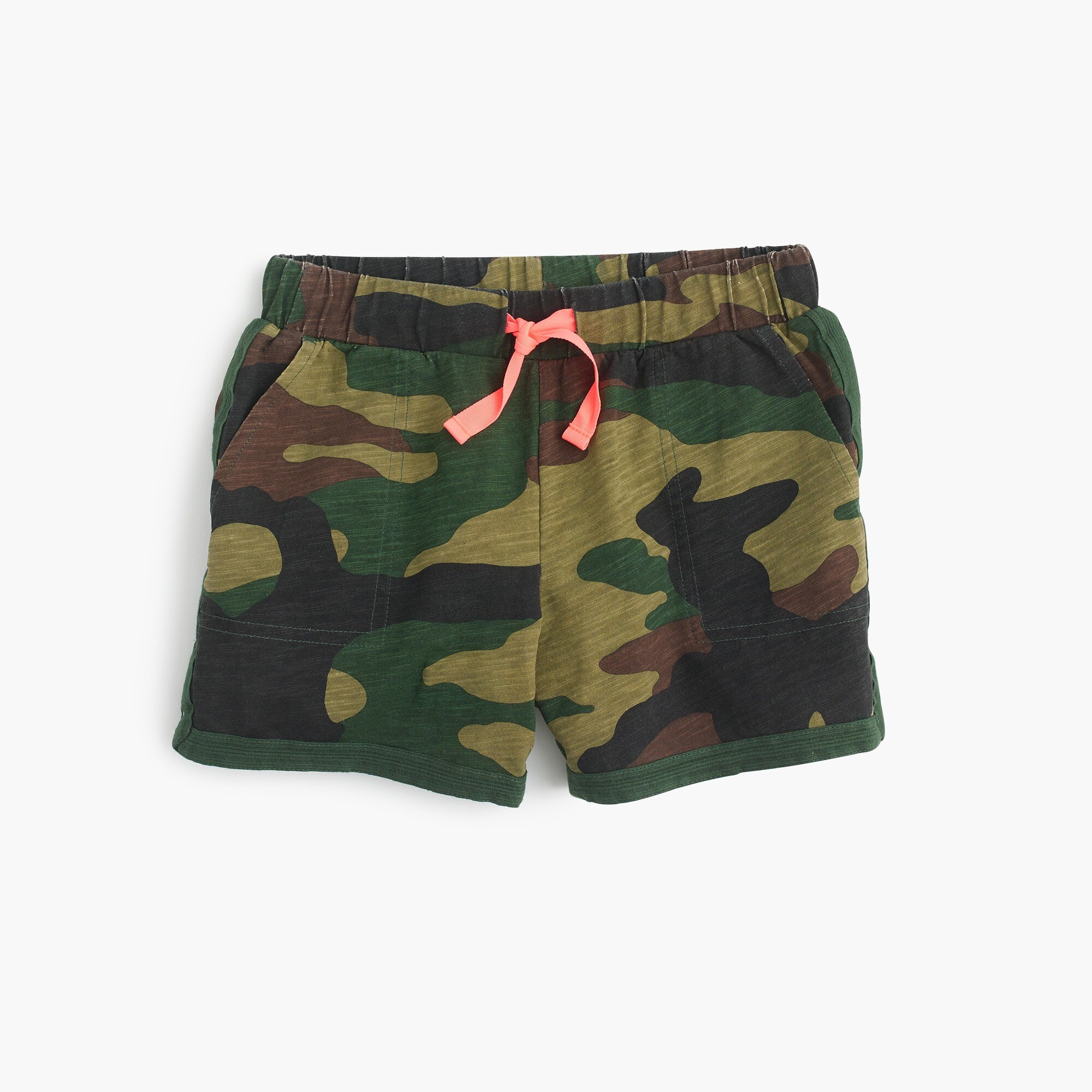 Image 1 for Girls' pull-on short in camo