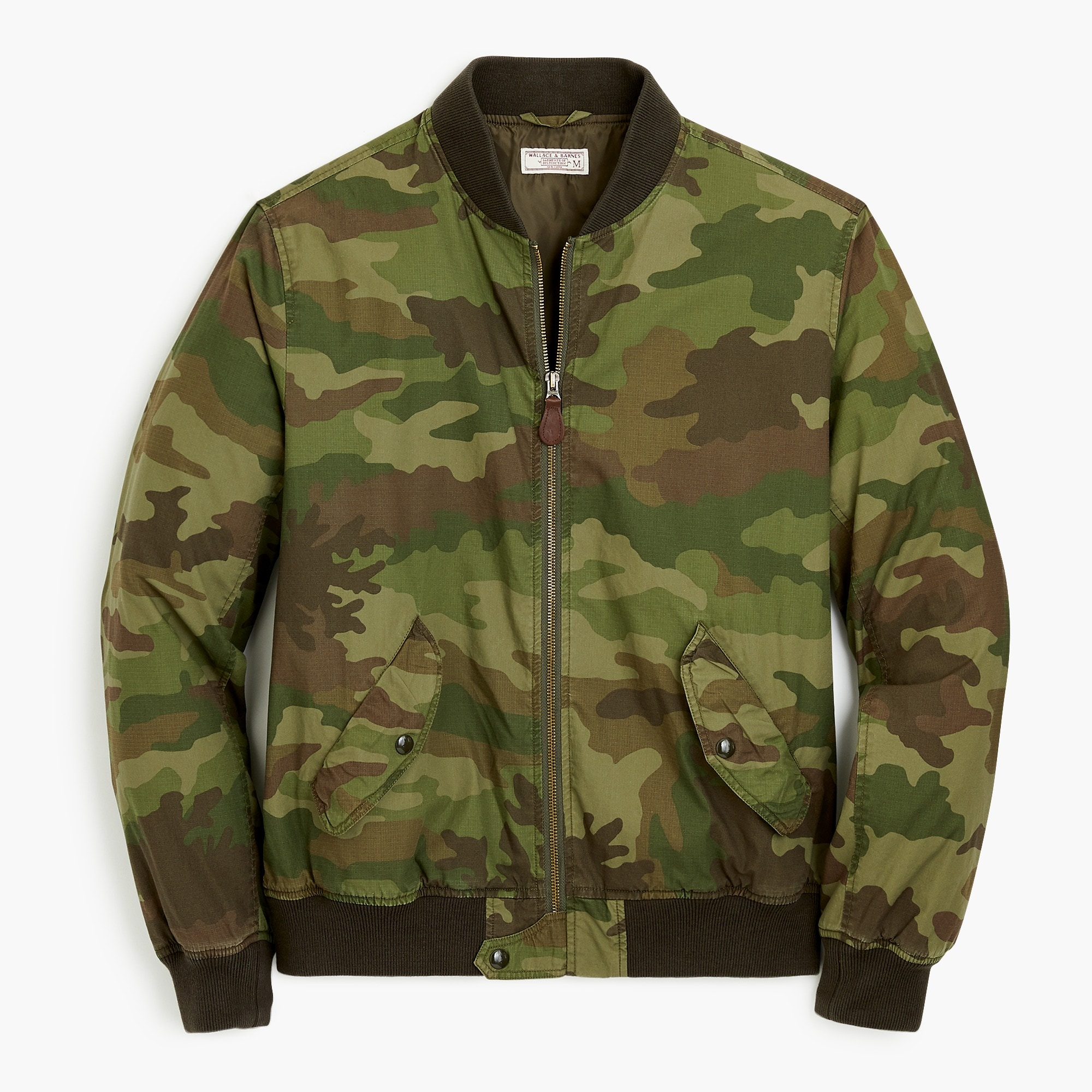 Wallace & Barnes MA-1 bomber jacket in camo