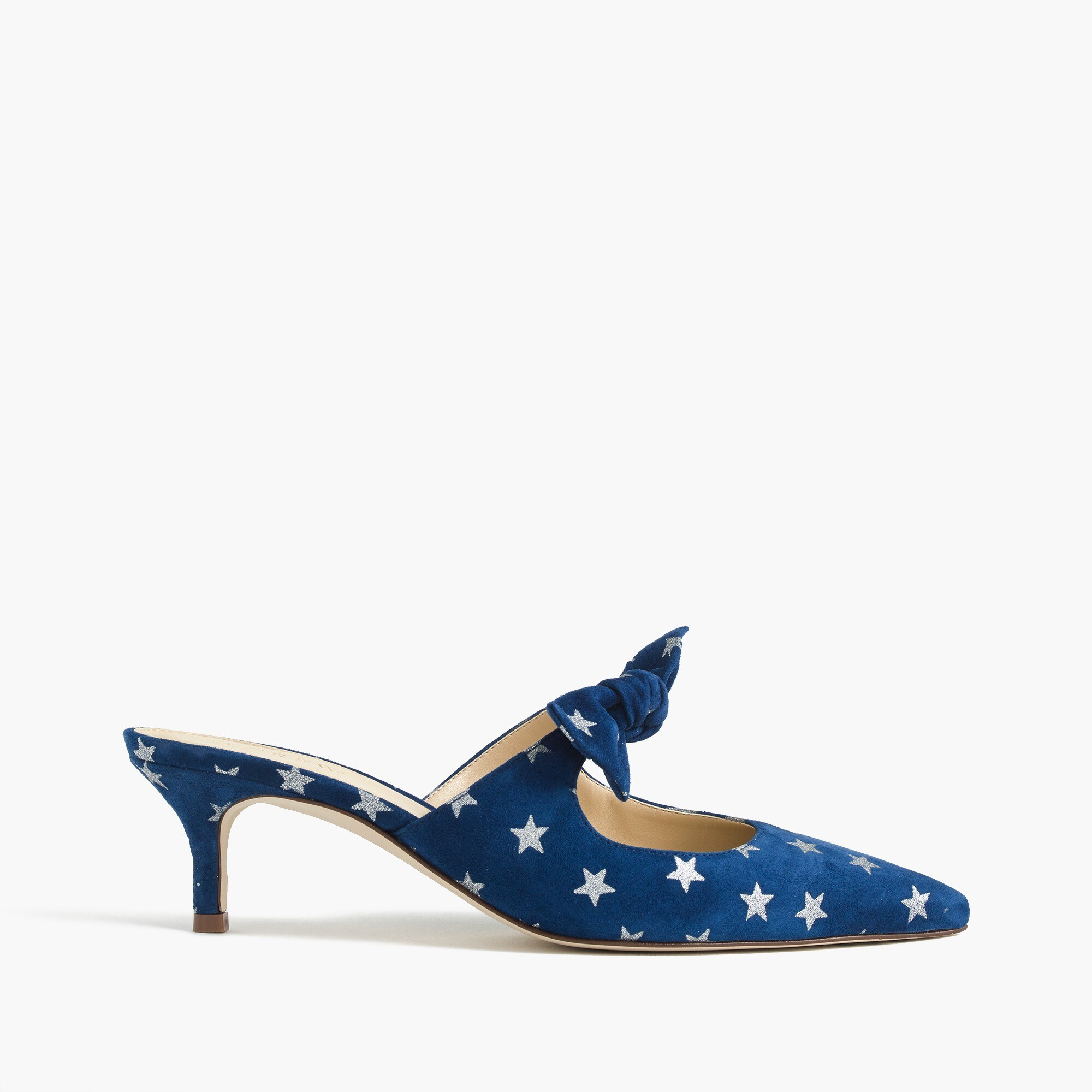 Image 2 for Sophia mules (55mm) in starry suede