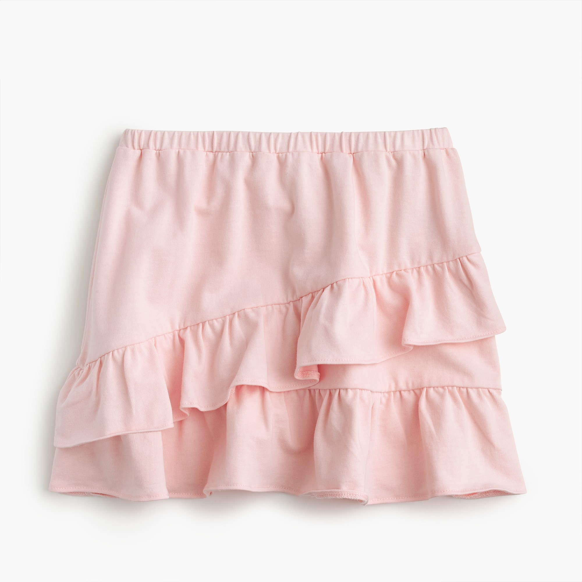 Girls' pull-on skirt with ruffles girl skirts c