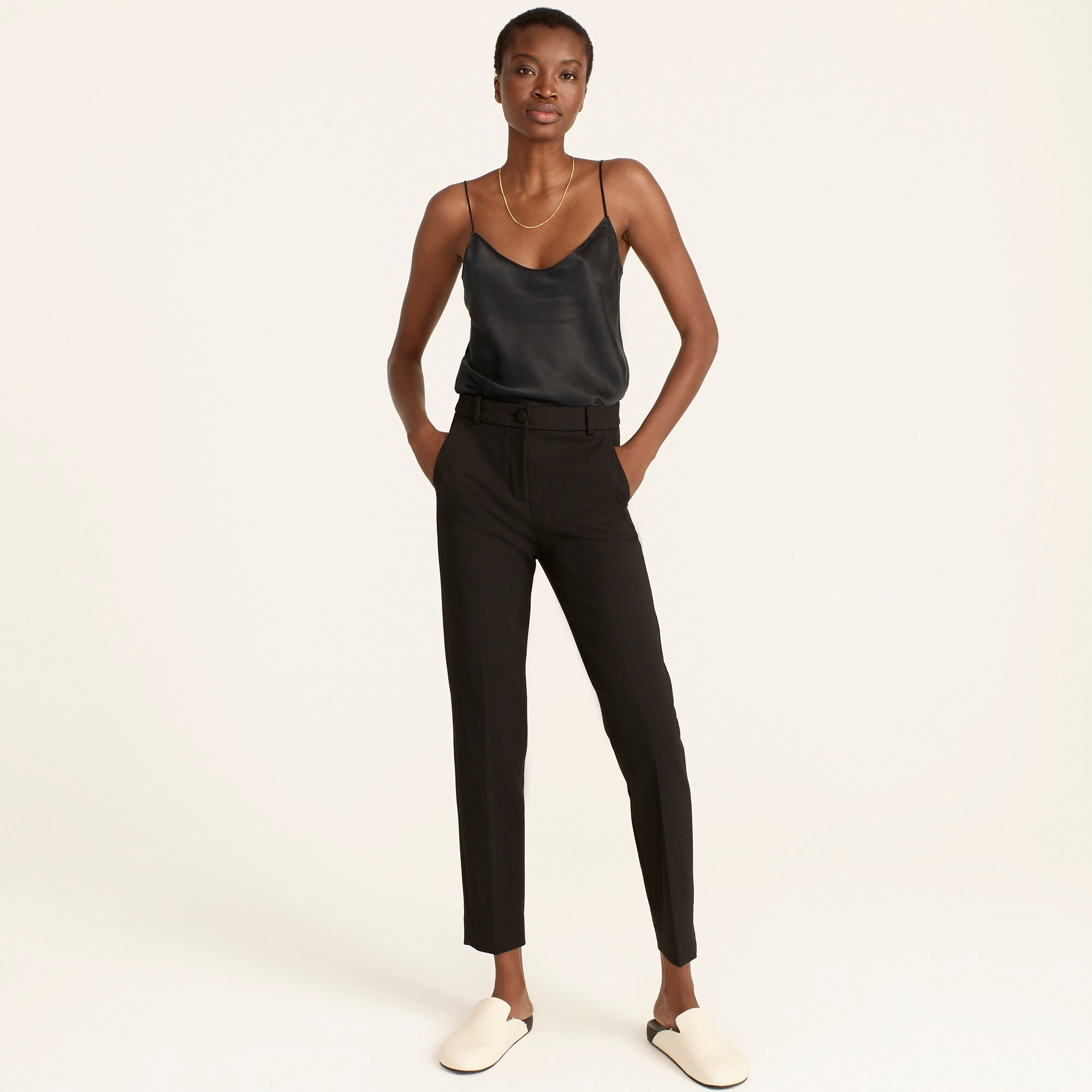 womens Tall High-rise Cameron pant in four-season stretch