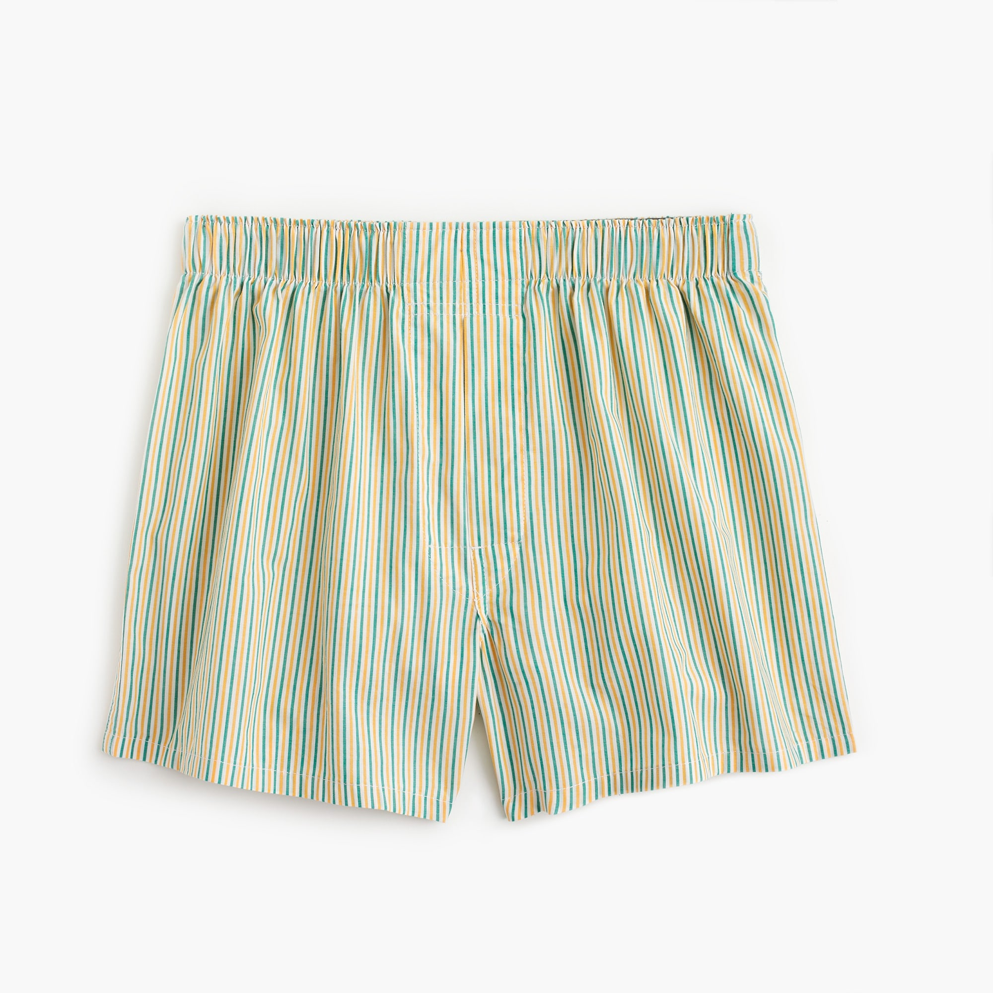 Yellow and teal striped boxers men underwear & pajamas c