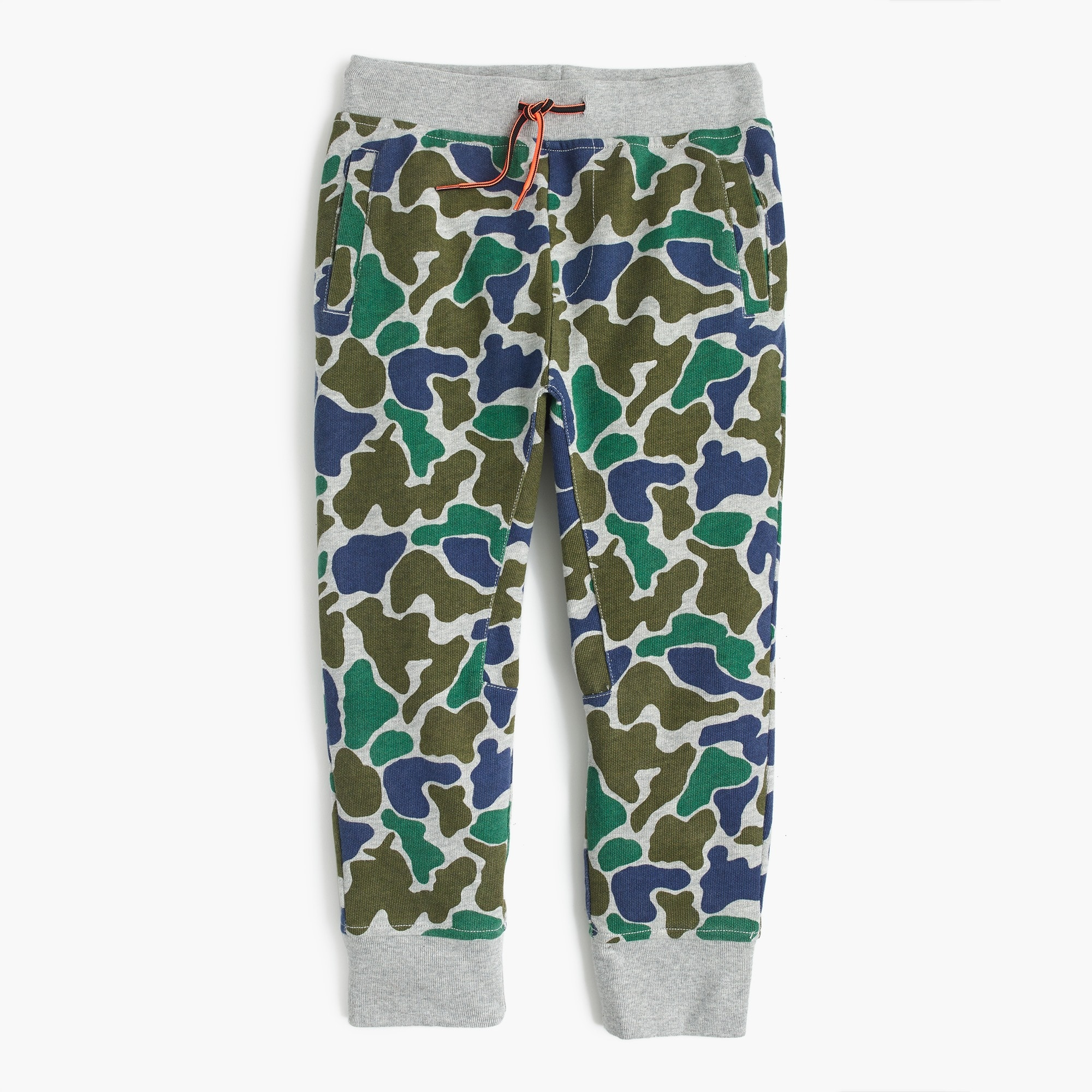 Boys' camo sweatpant in slim-fit boy sweatshirts & sweatpants c