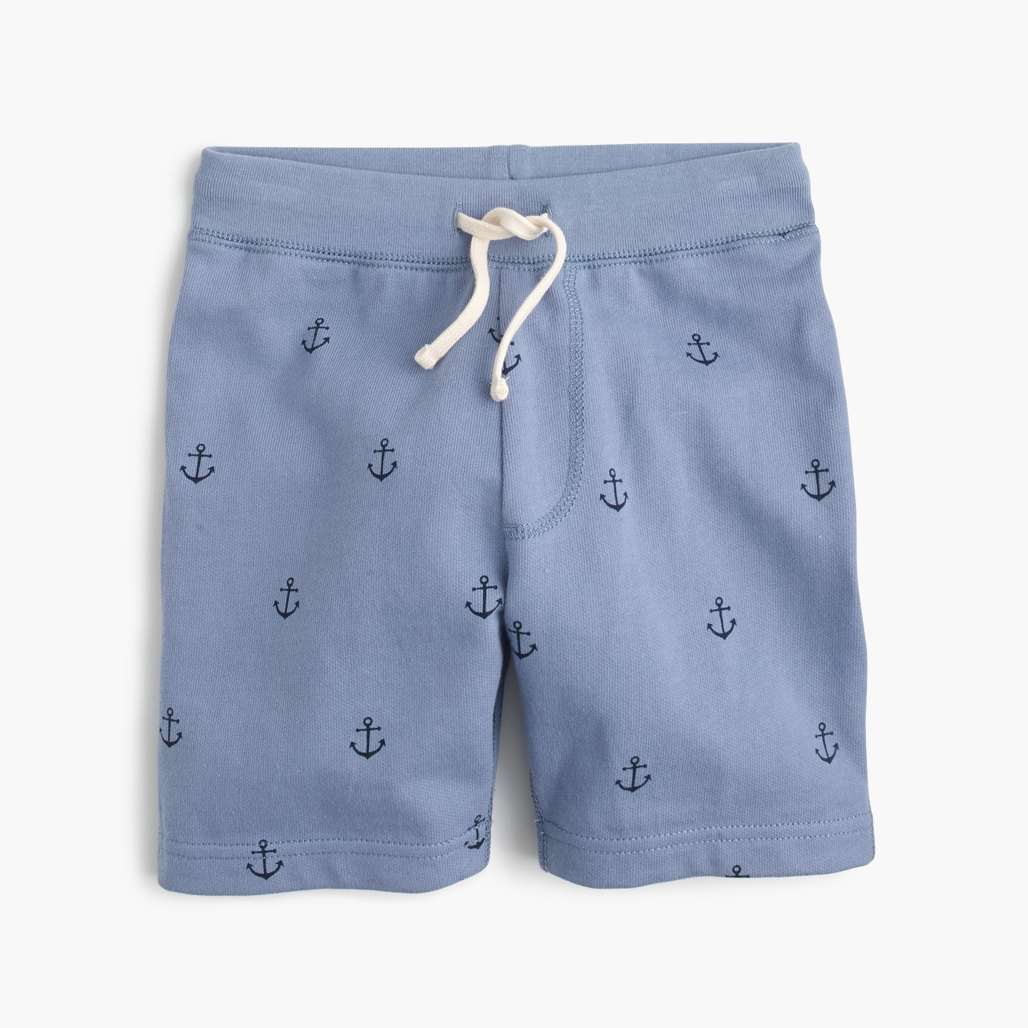 Boys' critter sweatshort in anchors boy sweatshirts & sweatpants c