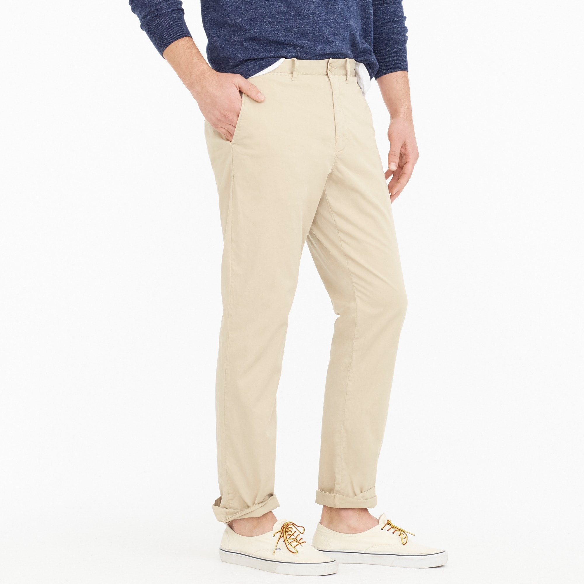 1040 Athletic-fit lightweight garment-dyed stretch chino