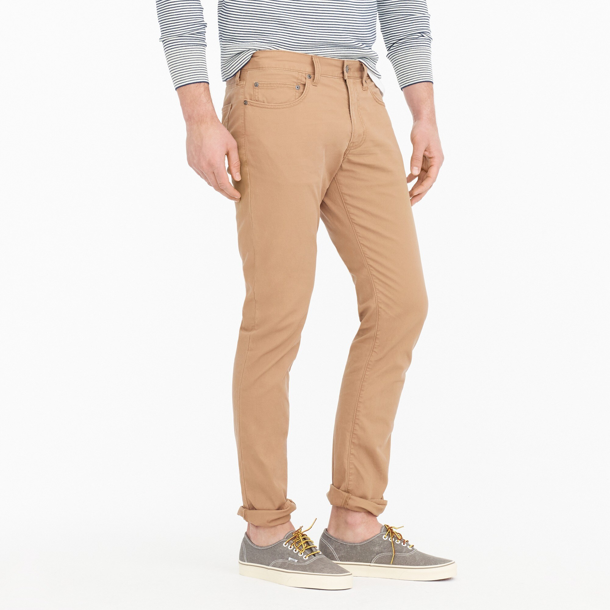 Image 2 for 484 Slim-fit pant in lightweight Bedford cord