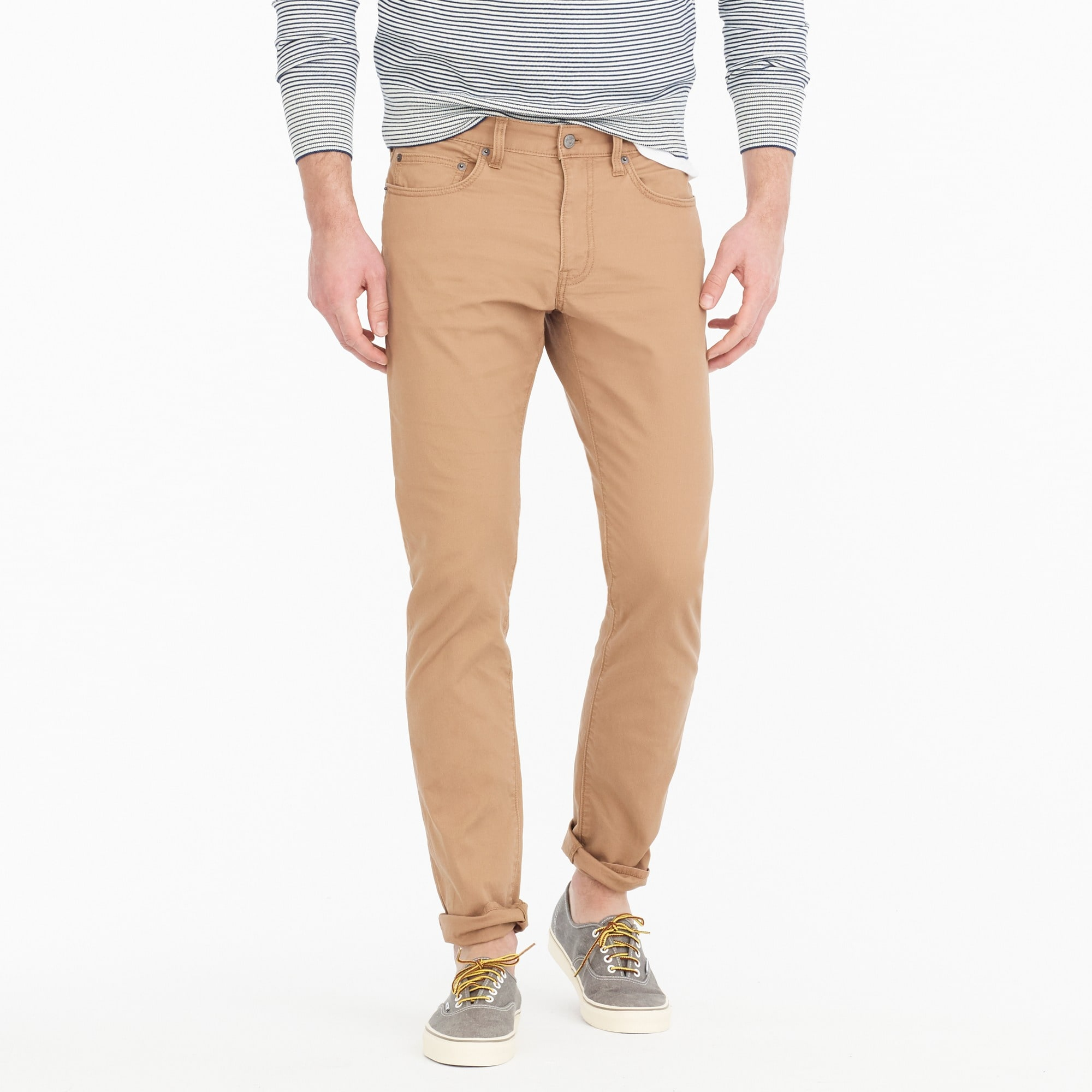 Image 1 for 484 Slim-fit pant in lightweight Bedford cord