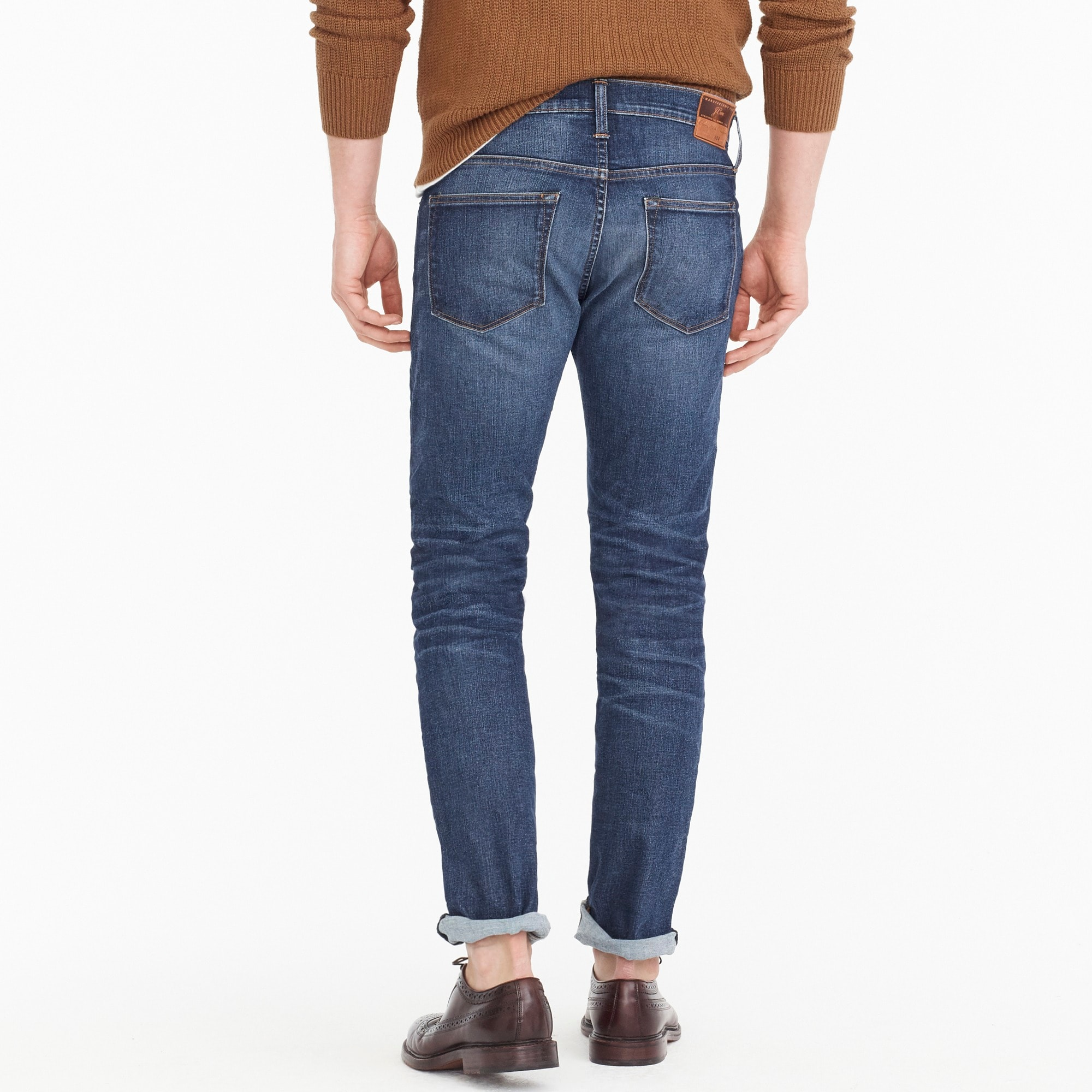 484 Slim-fit stretch jean in Dalton wash