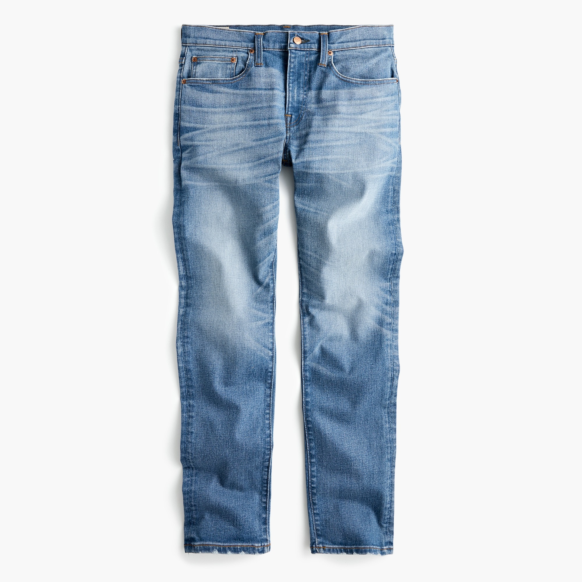 Image 1 for 484 Slim-fit distressed stretch jean in Stockton wash