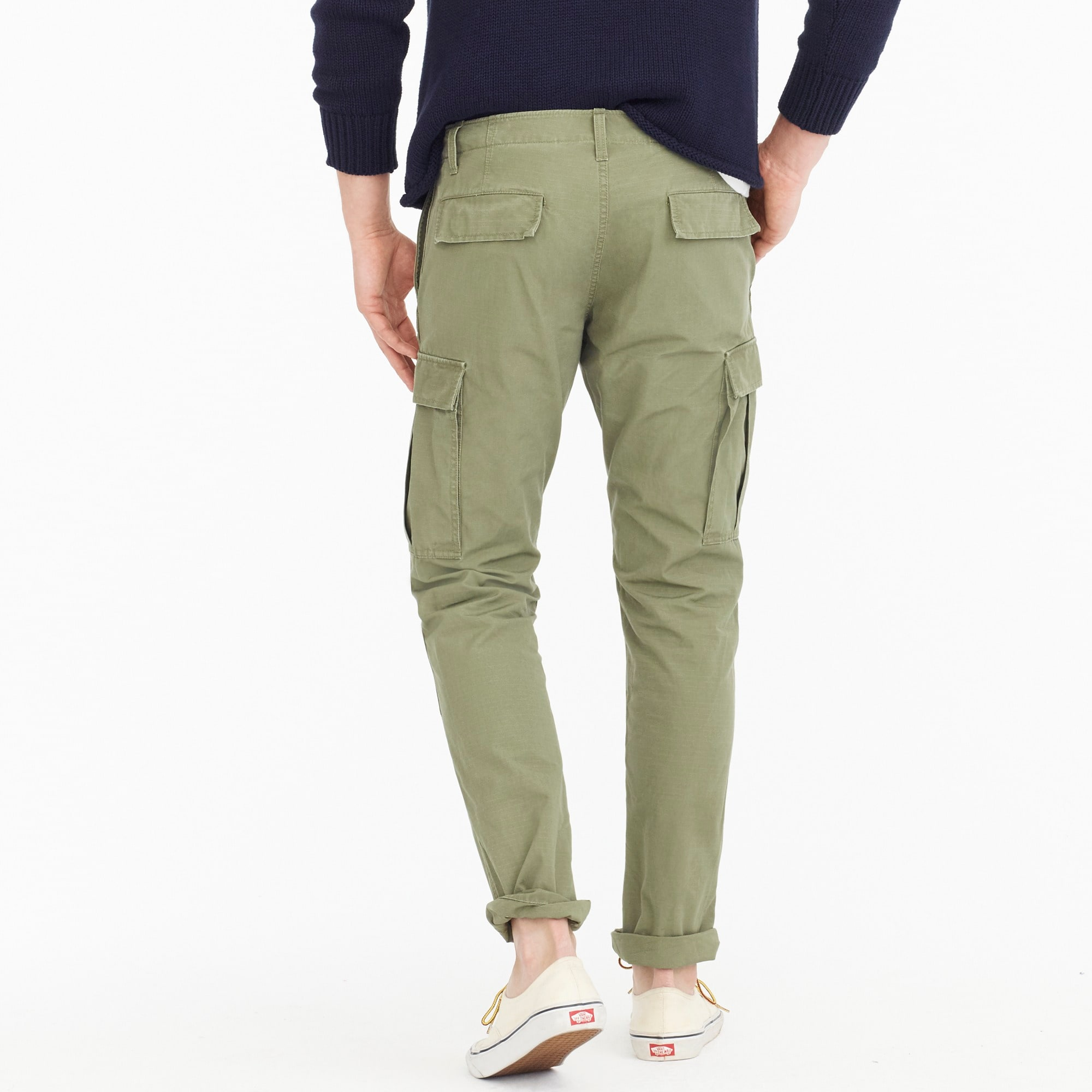 770 Straight-fit ripstop cargo pant in brigade olive