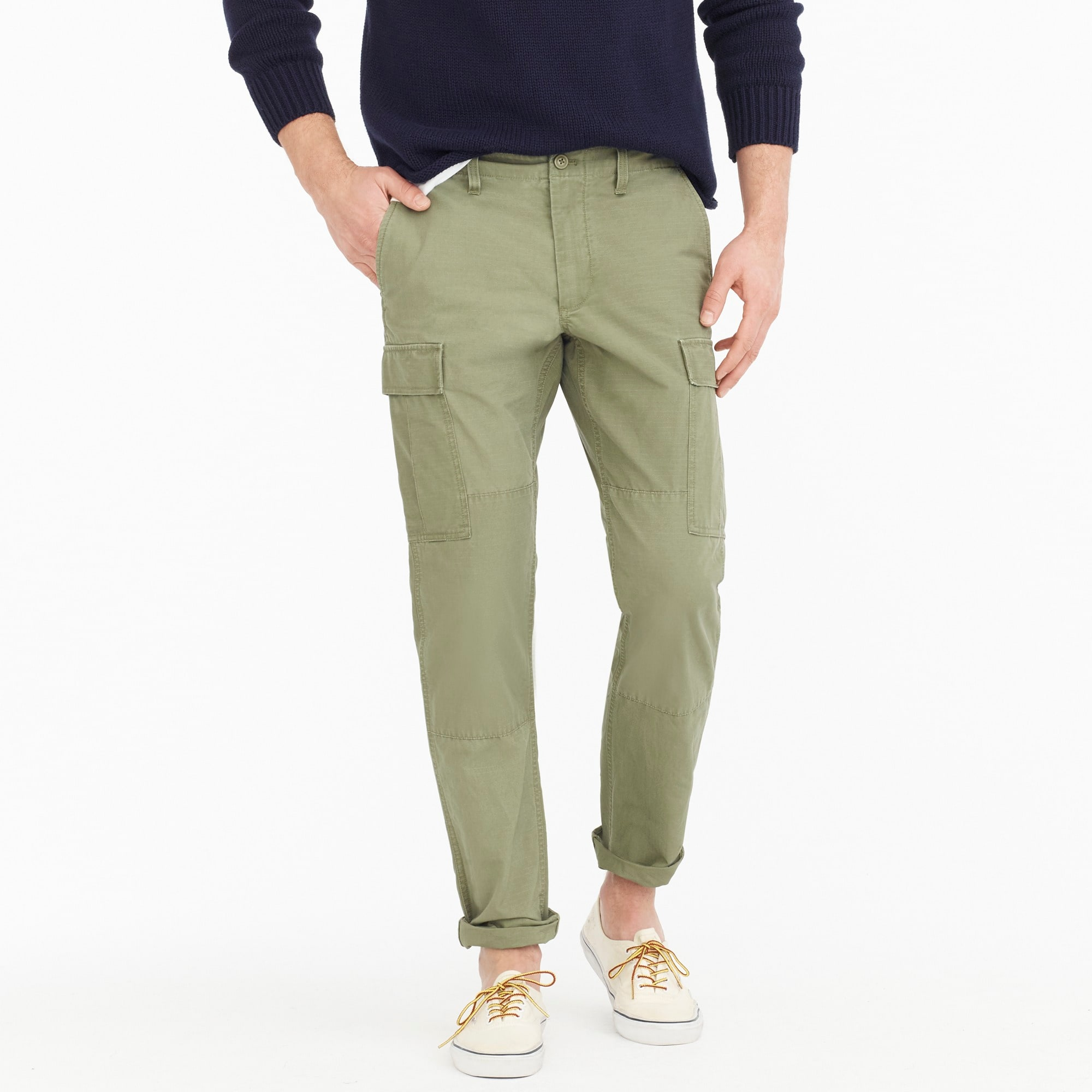 Image 1 for 770 Straight-fit ripstop cargo pant in brigade olive