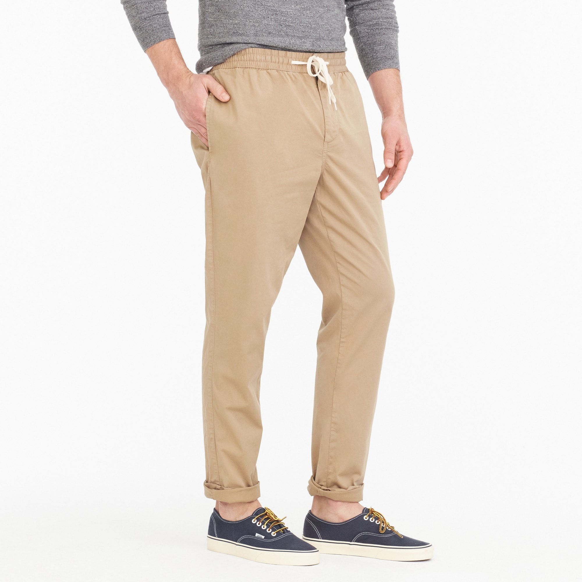 Image 2 for Drawstring pant in chino