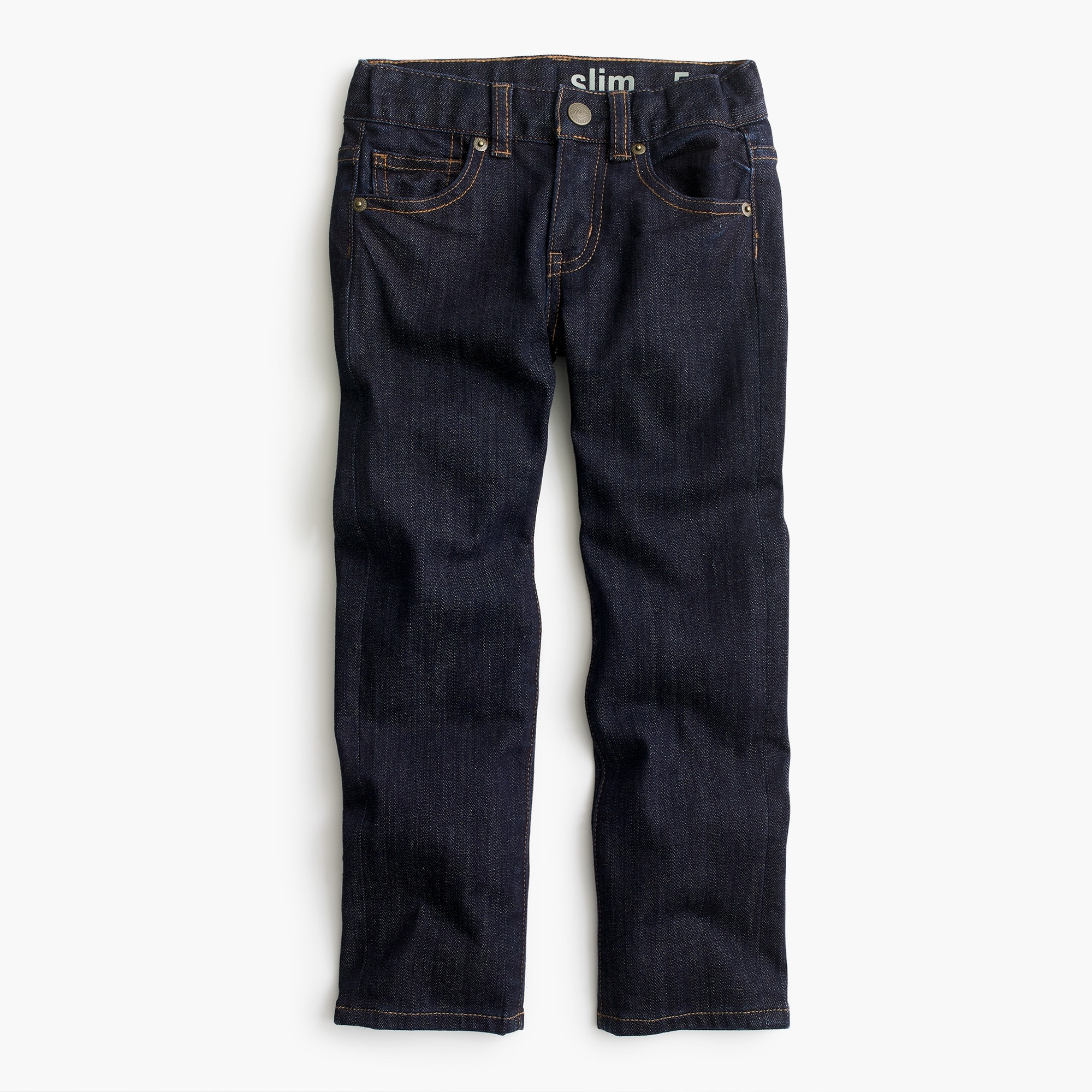 Boys' rinse wash denim in slim fit