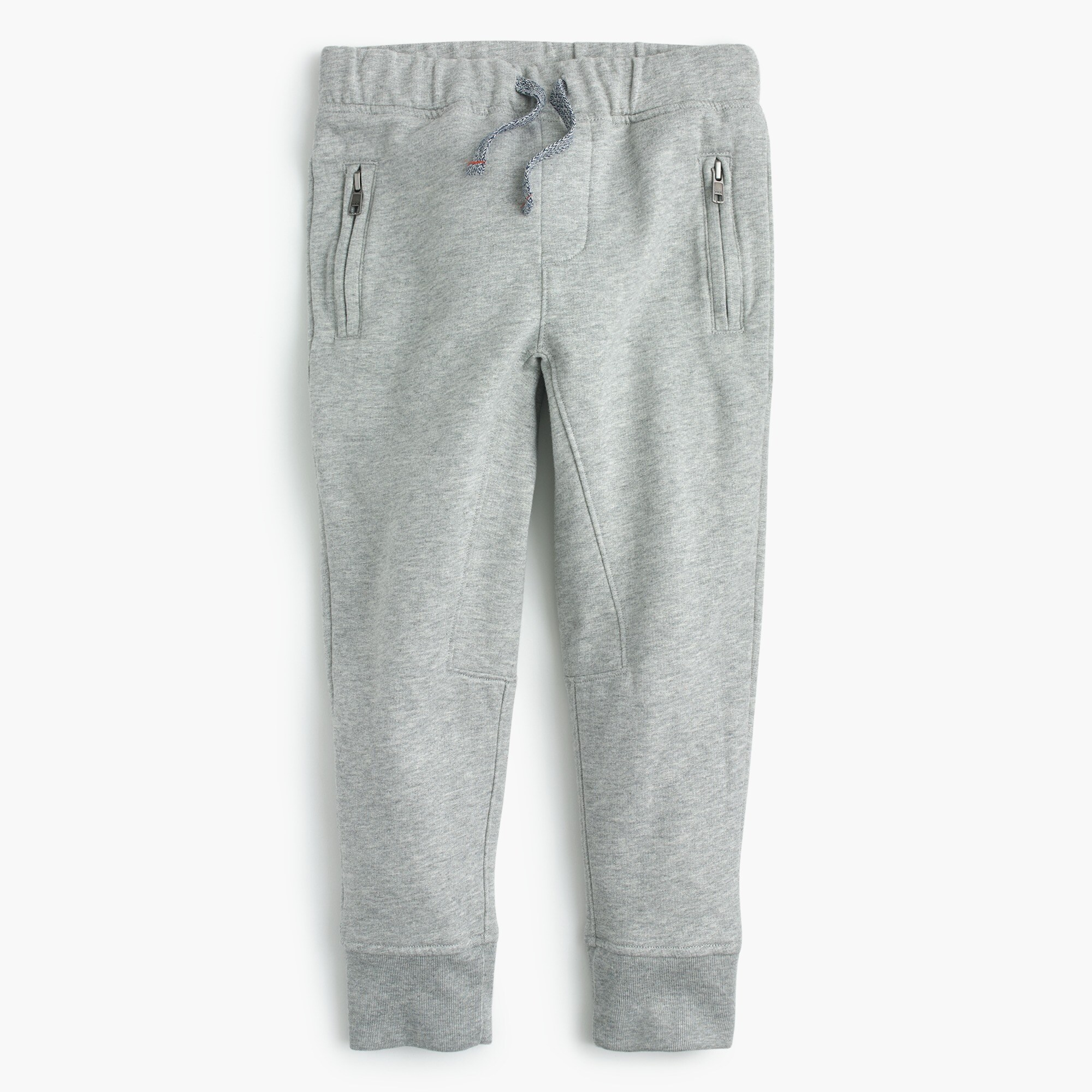 Kids' zip-pocket sweatpant in slim-fit boy pants c