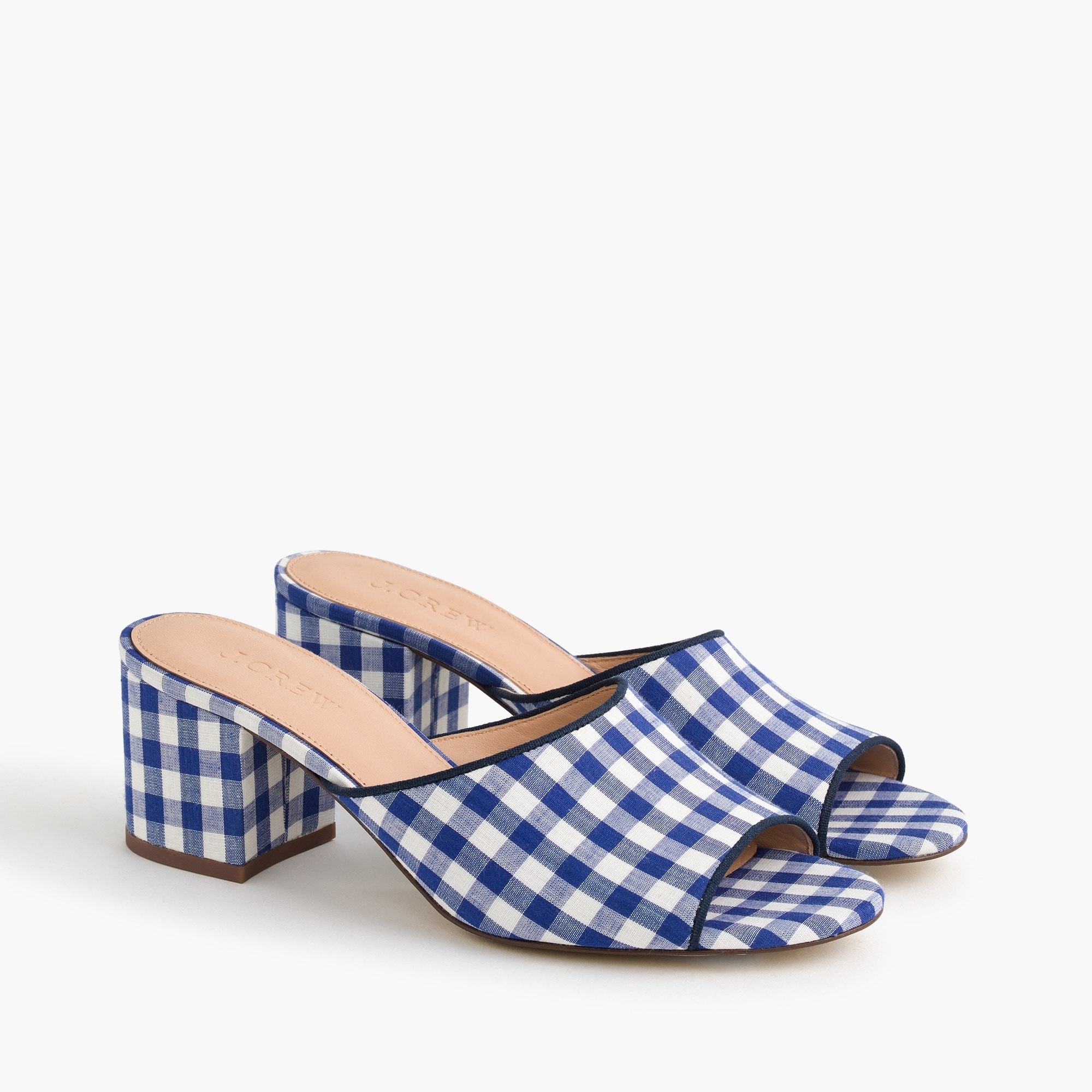 All-day mule (60mm) in gingham women shoes c
