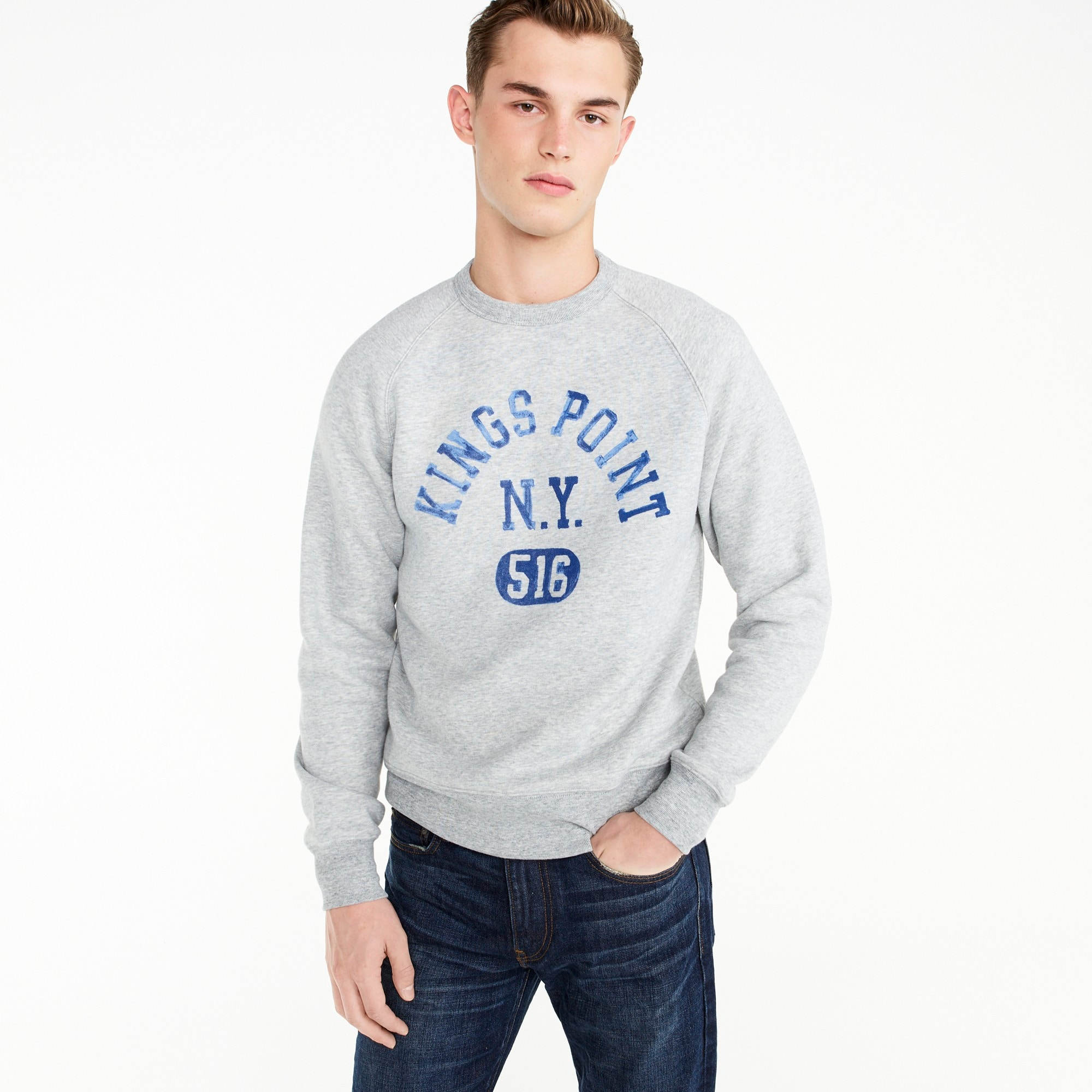 Kings Point crewneck sweatshirt