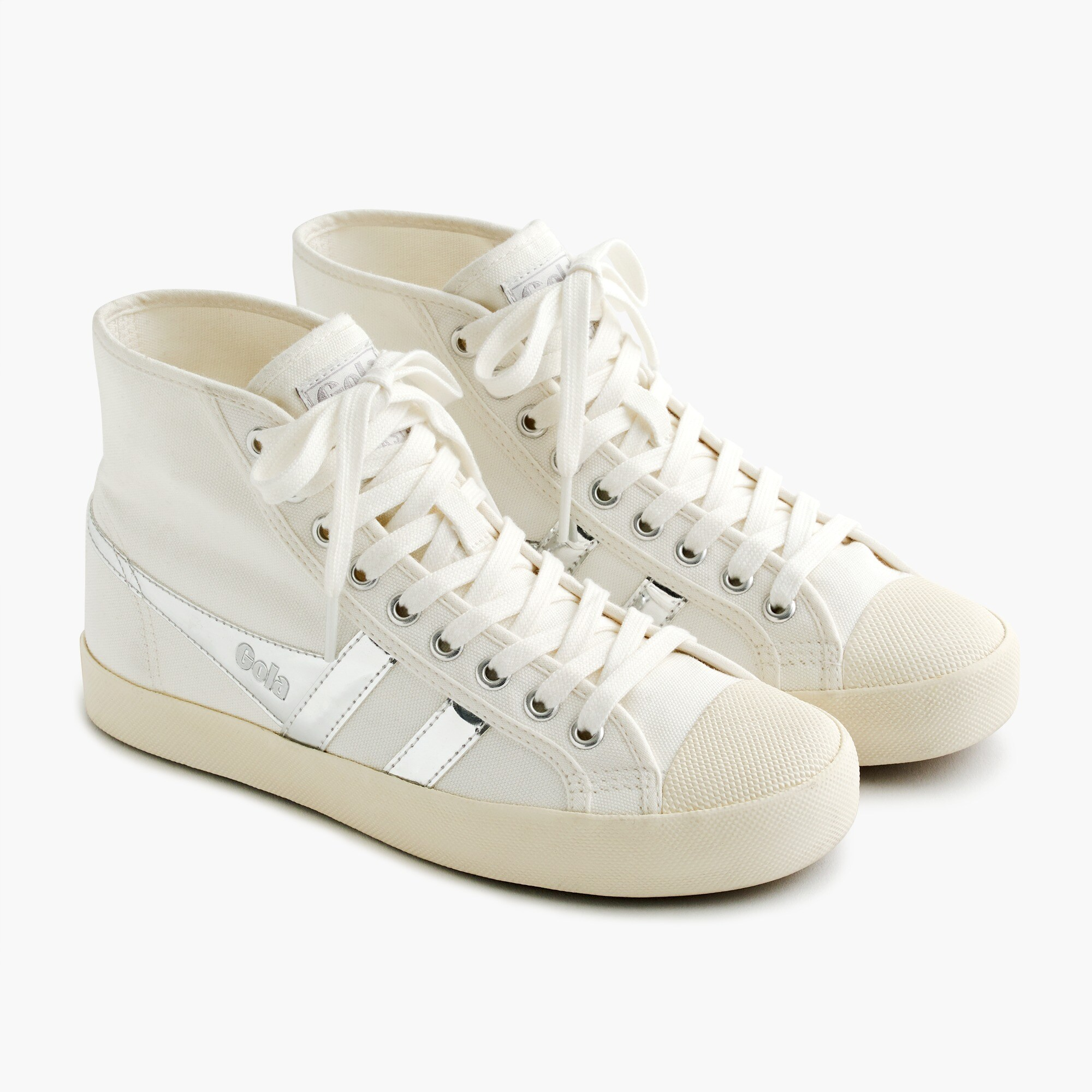 women's gola® for j.crew coaster high-top sneaker - women's sneakers