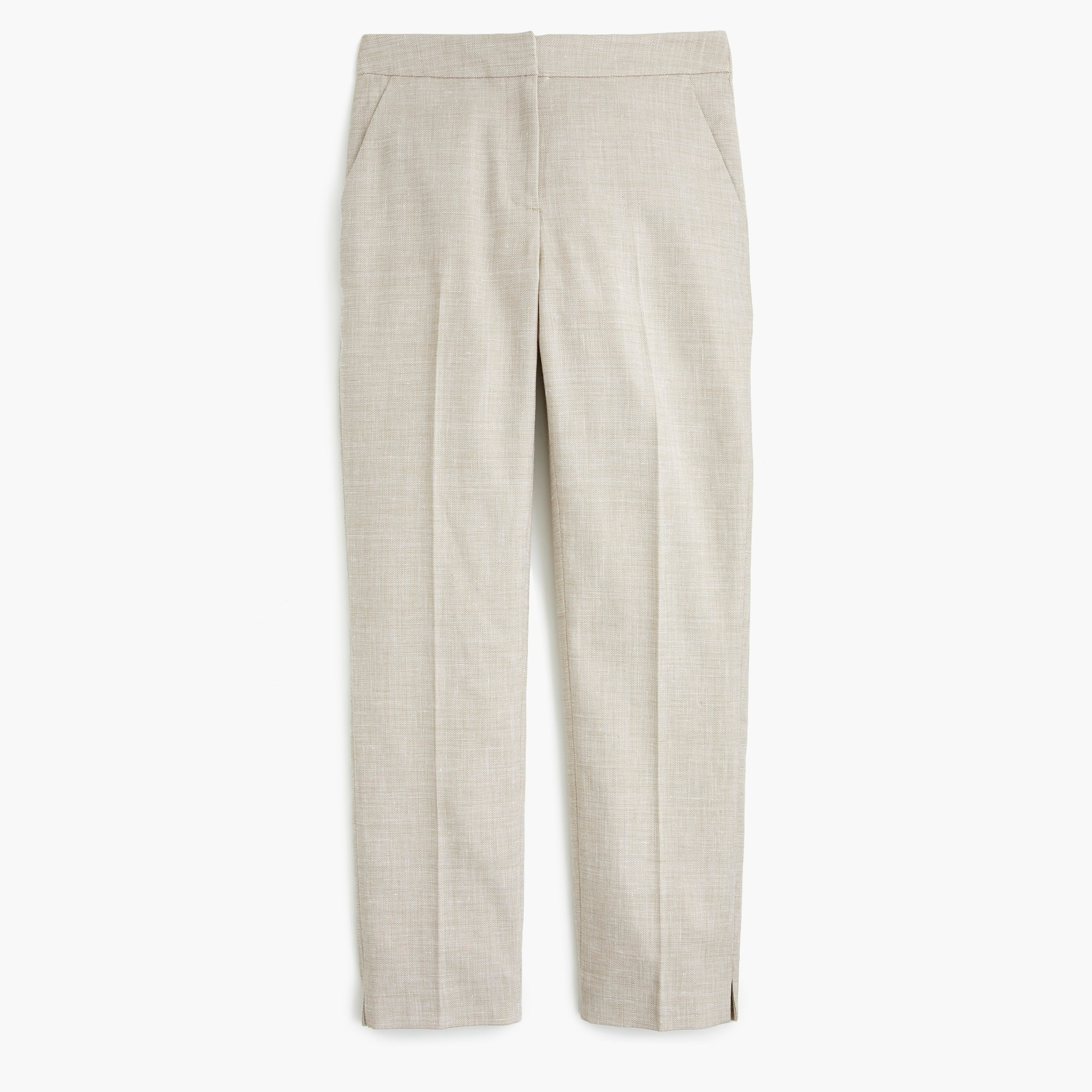 Petite easy pant stretch linen