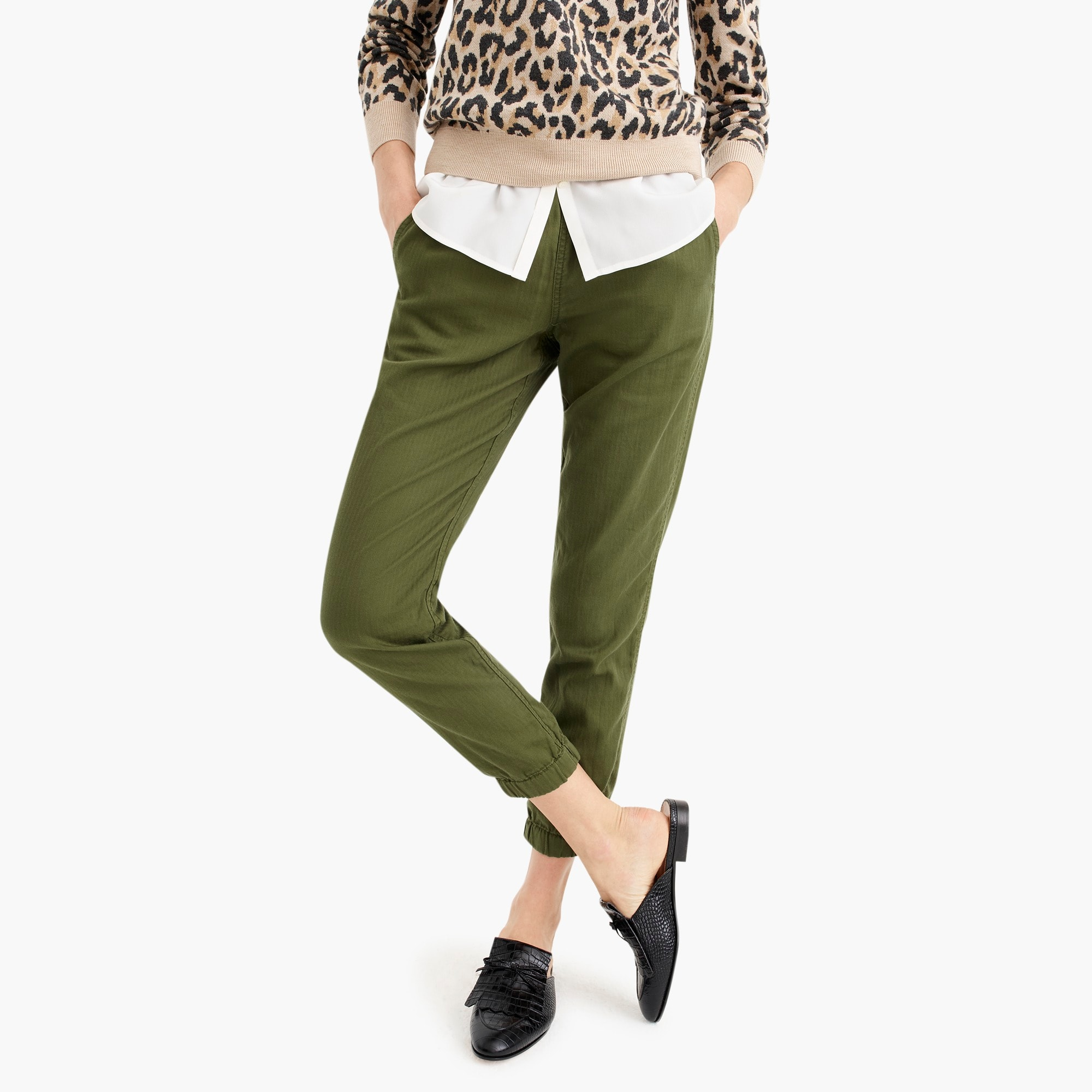 womens Tall Point Sur seaside pant in cotton twill