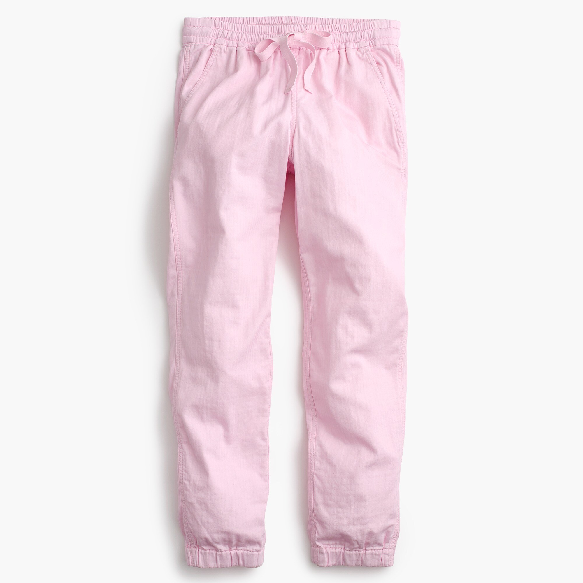 Petite Point Sur seaside pant in cotton twill