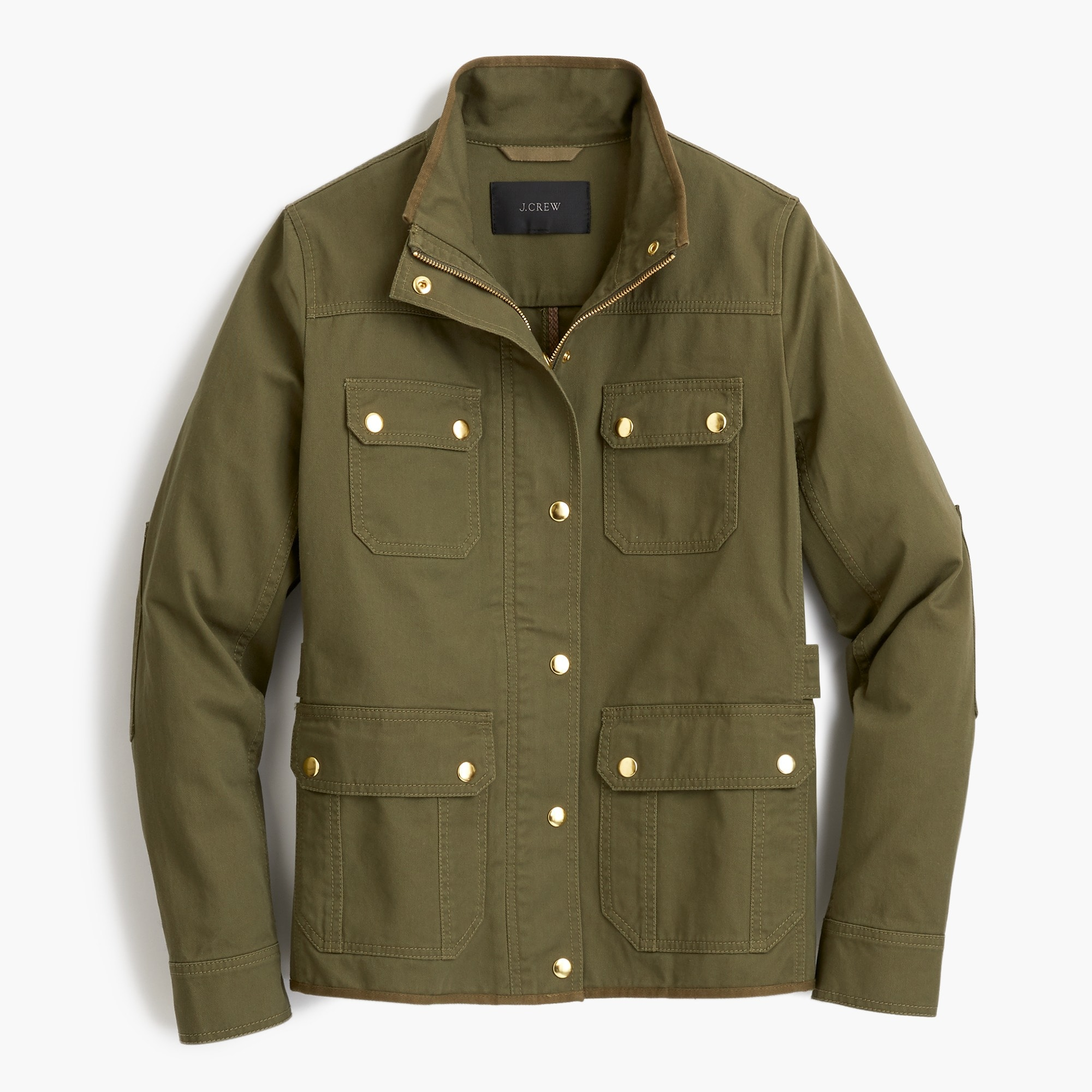 Petite uncoated downtown field jacket