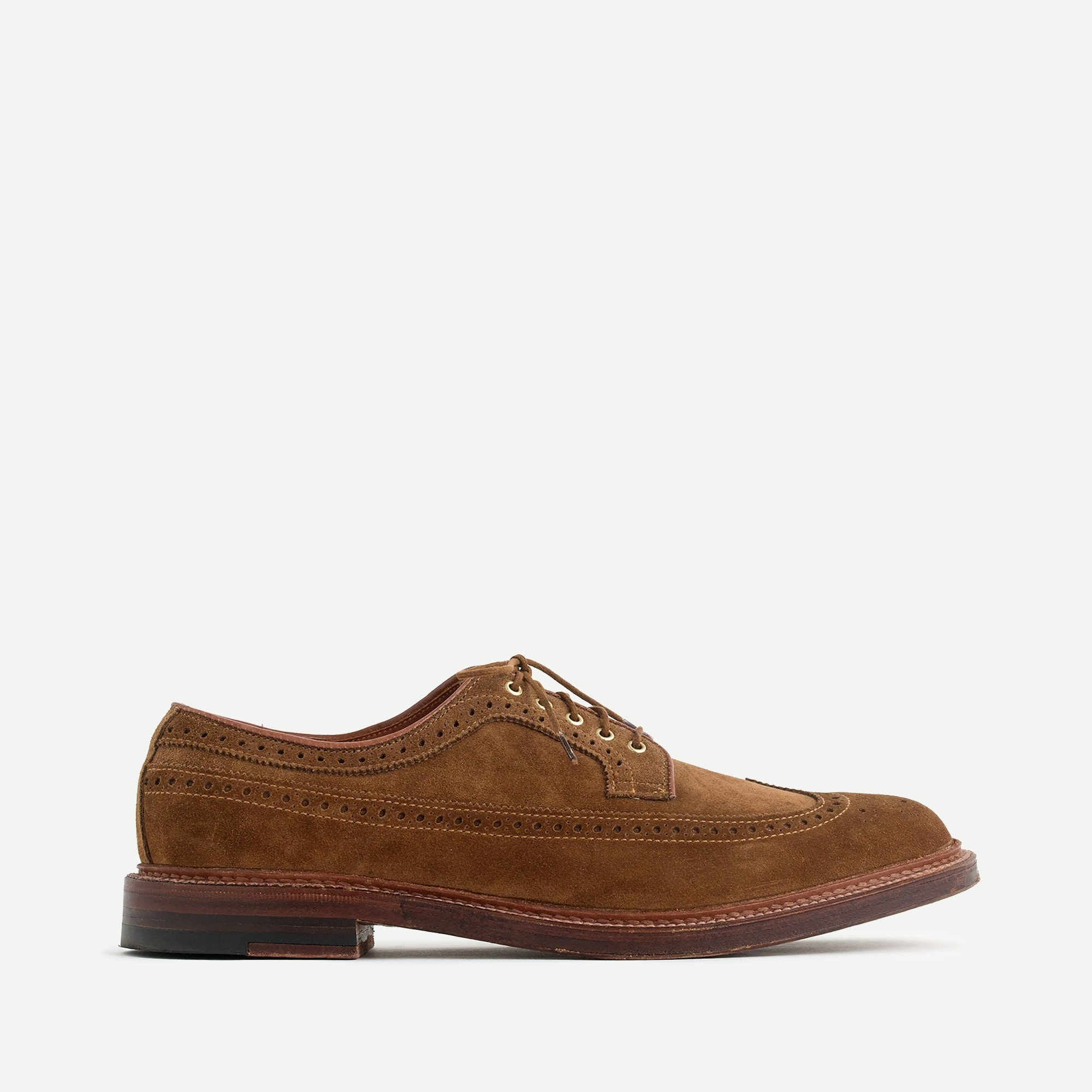 Image 3 for Alden® for J.Crew longwing bluchers in tan suede