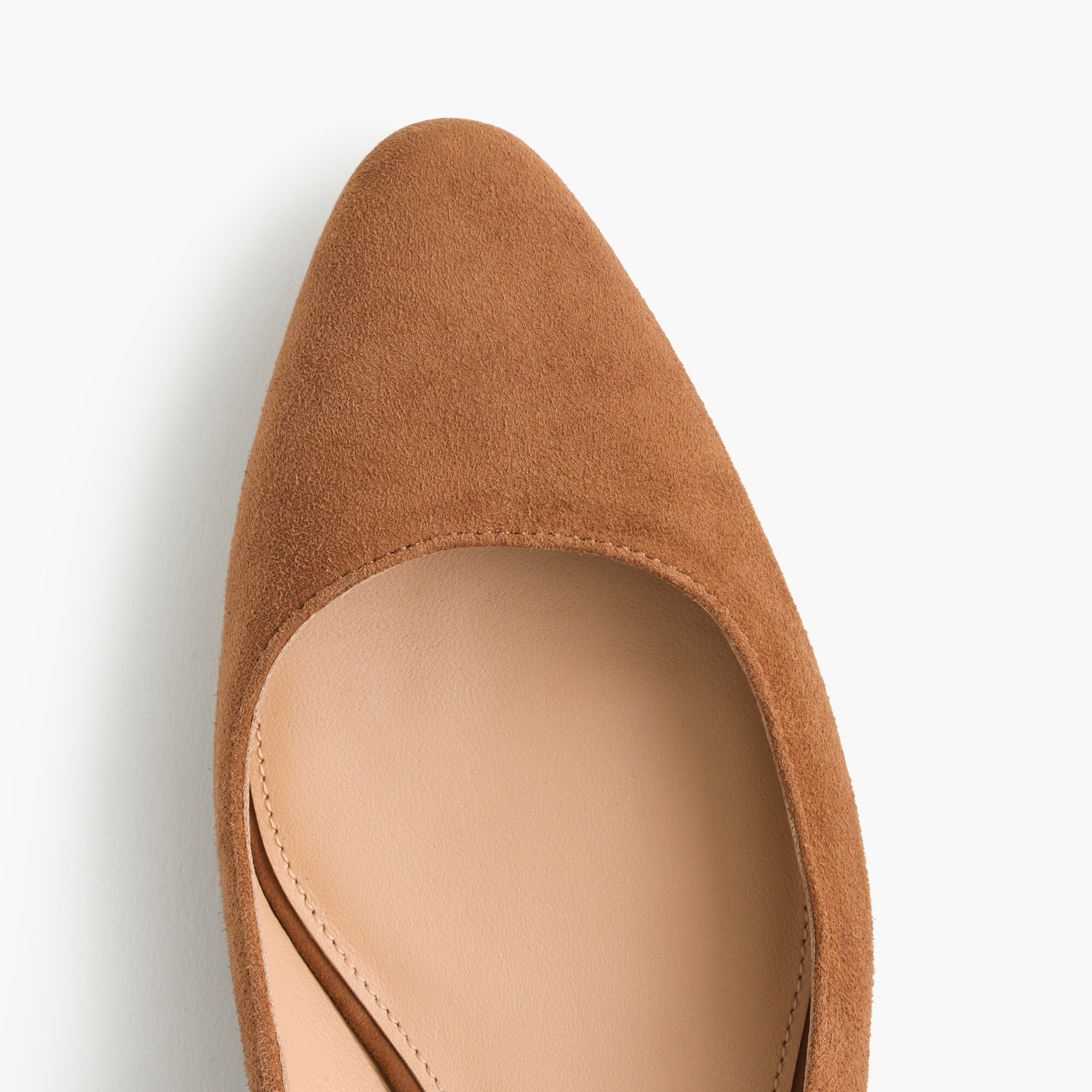 Slingback bow pumps (40mm) in suede