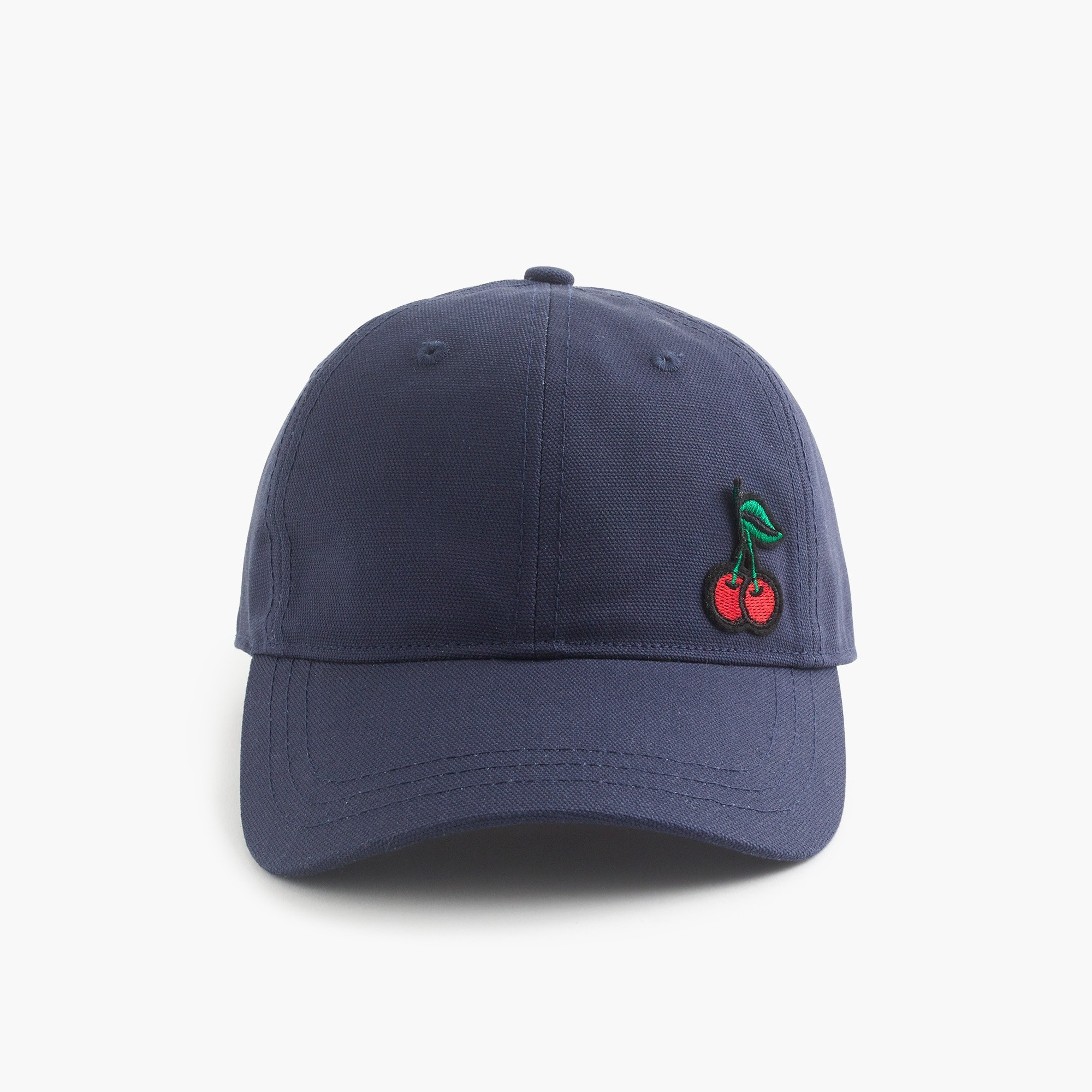 Image 1 for Baseball cap with cherry patch