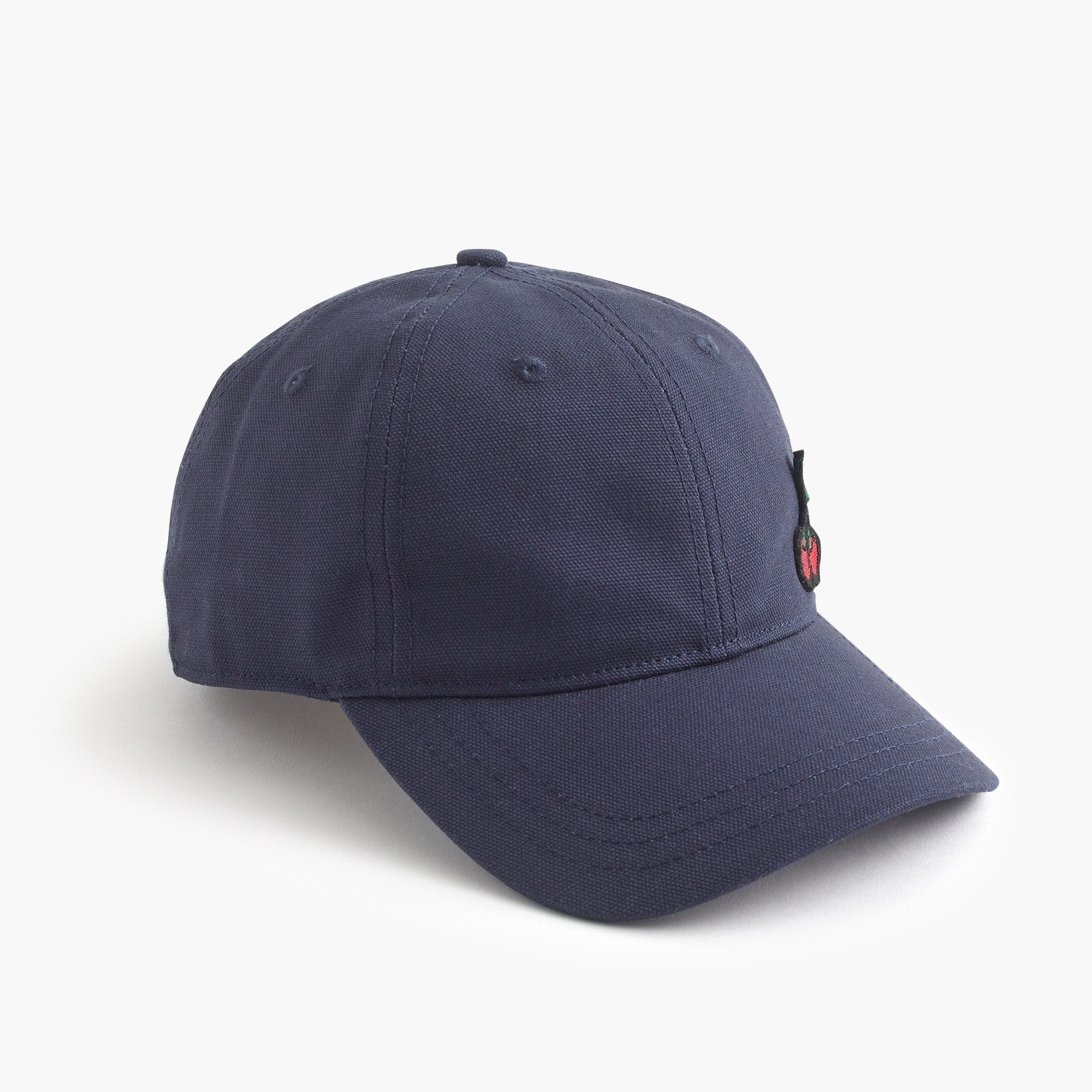 Image 2 for Baseball cap with cherry patch