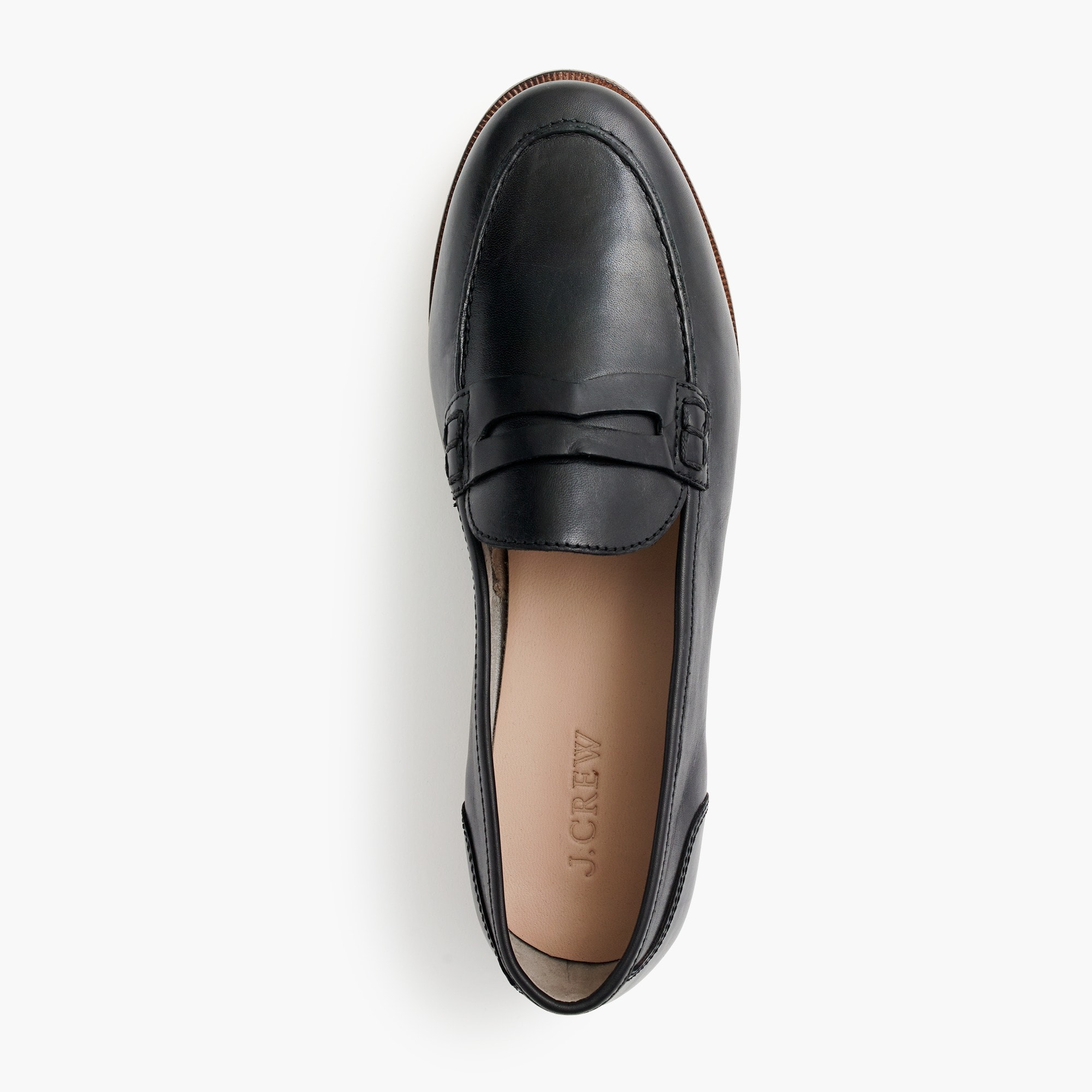 ryan penny loafers in leather - women's footwear