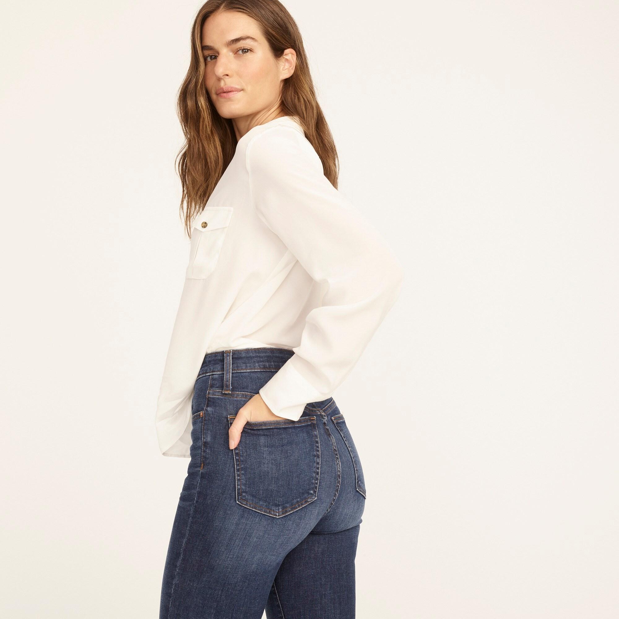 Image 4 for Tall curvy toothpick jean in Dryden wash