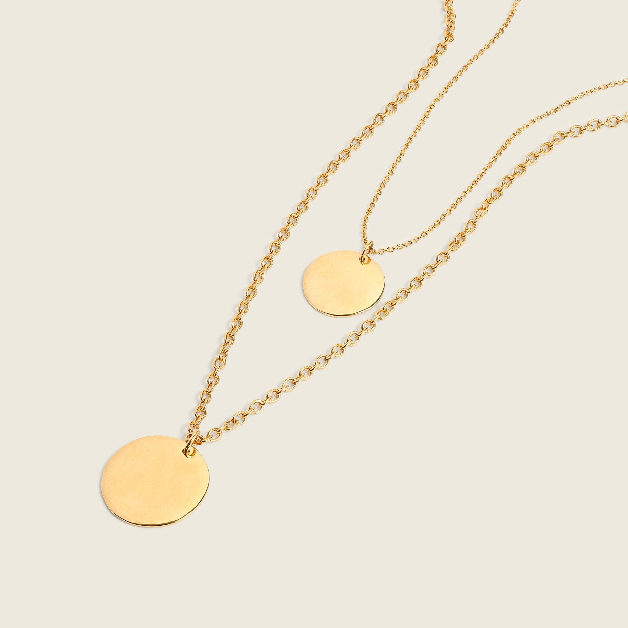 Image 2 for Layered coin necklace